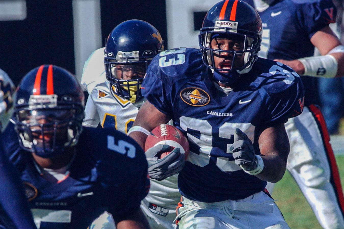 Running back Wali Lundy starred in UVA's two previous bowl appearances in Charlotte – both Cavalier wins – scoring five total touchdowns and earning game MVP honors in 2002.