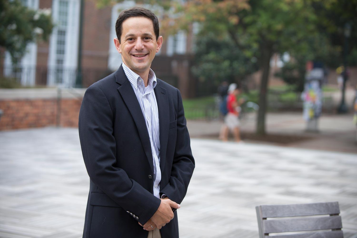 Ben Castleman gained attention with a text-message-based approach to encouraging first-generation students to enroll in college. He's now seeking to help them finish degrees.