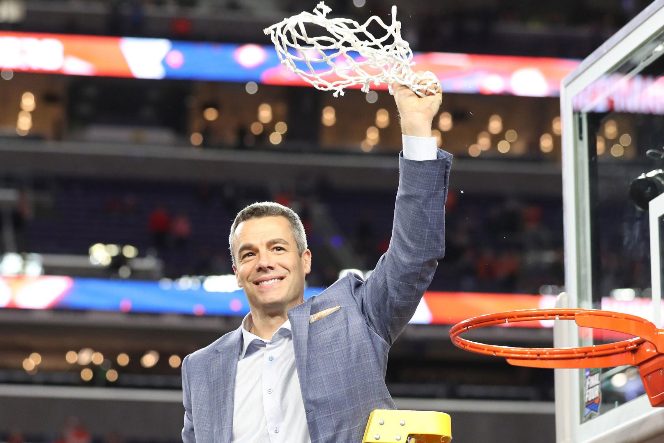 """Tony Bennett, Dean and Markel Families Men's Basketball Head Coach, said he was """"blessed beyond what I deserve,"""" declined a raise and made a gift to a career development program for his players."""