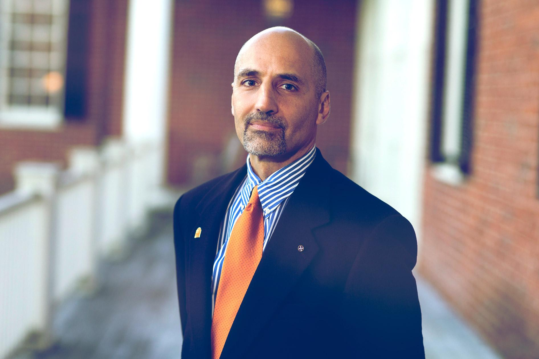 William Antholis is the CEO of UVA's Miller Center and a former official in the Clinton White House.