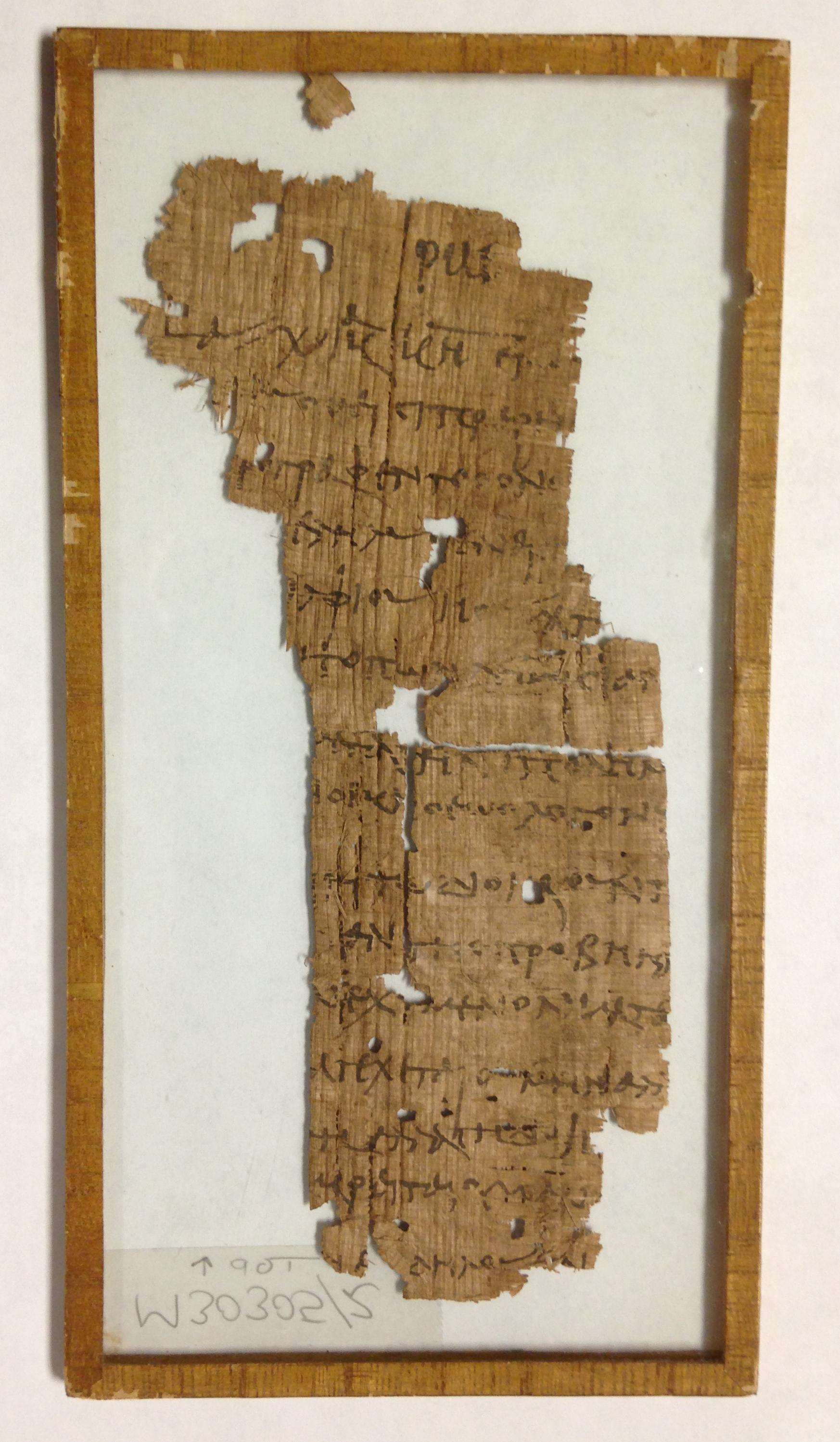What is papyrus for the ancient world 24