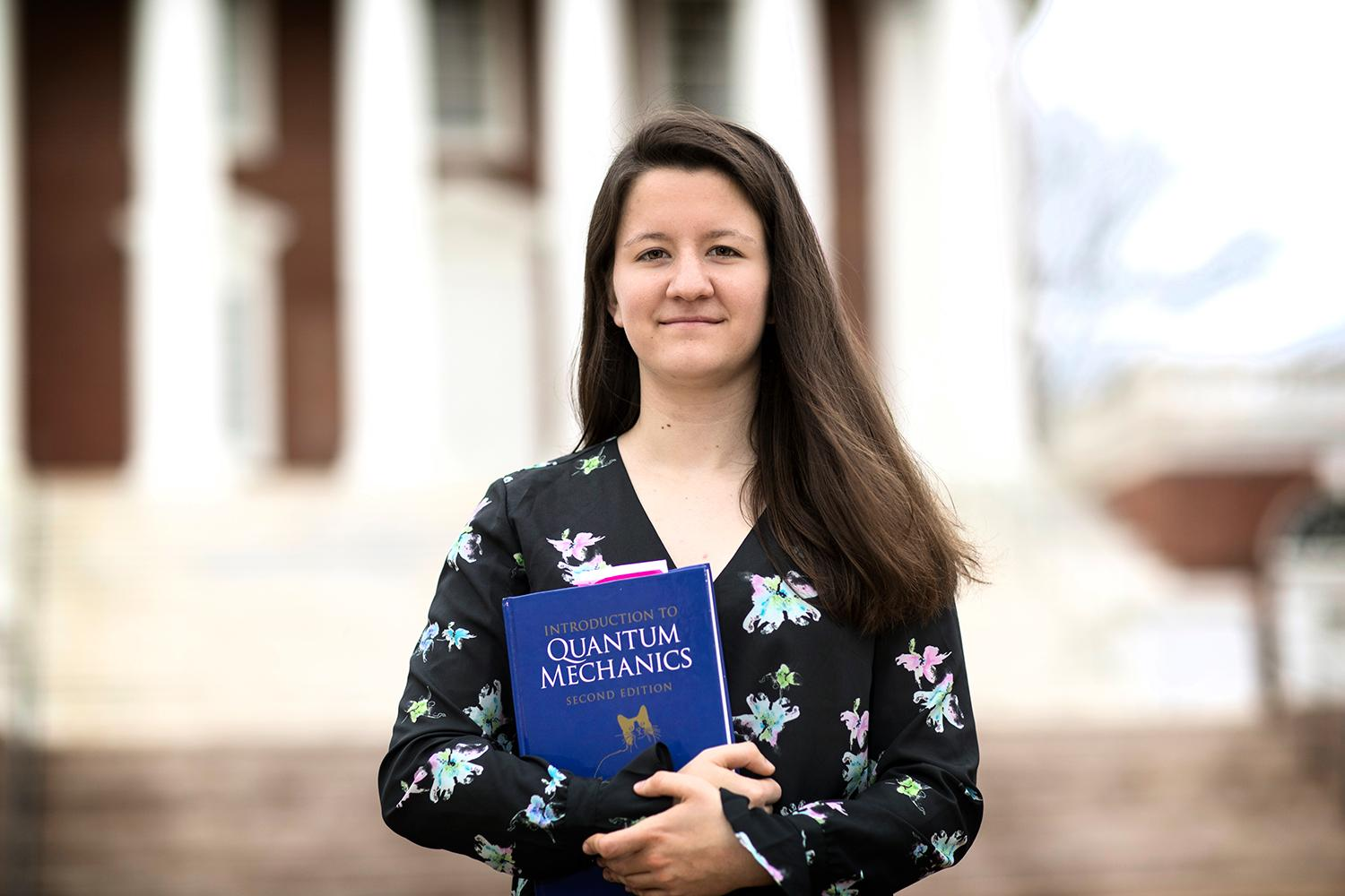 Bridget Andersen is headed to McGill University in Montreal to pursue a Ph.D. in astrophysics.