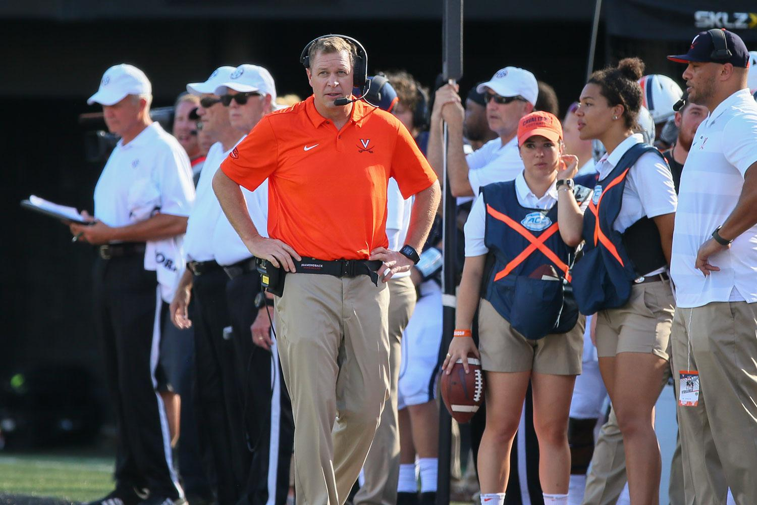 Bronco Mendenhall's $500,000 pledge to the University's $180 million athletics master plan campaign is the first to be publicly announced.