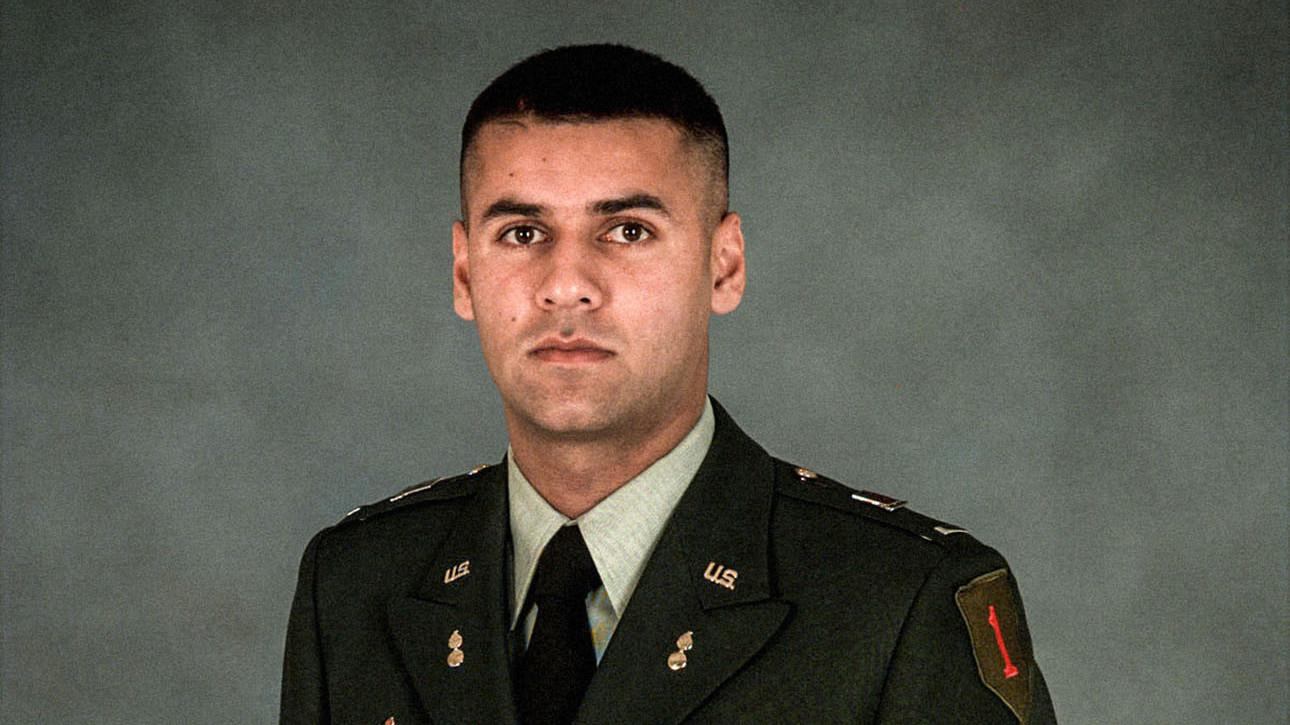 U.S. Army Capt. Humayun Khan
