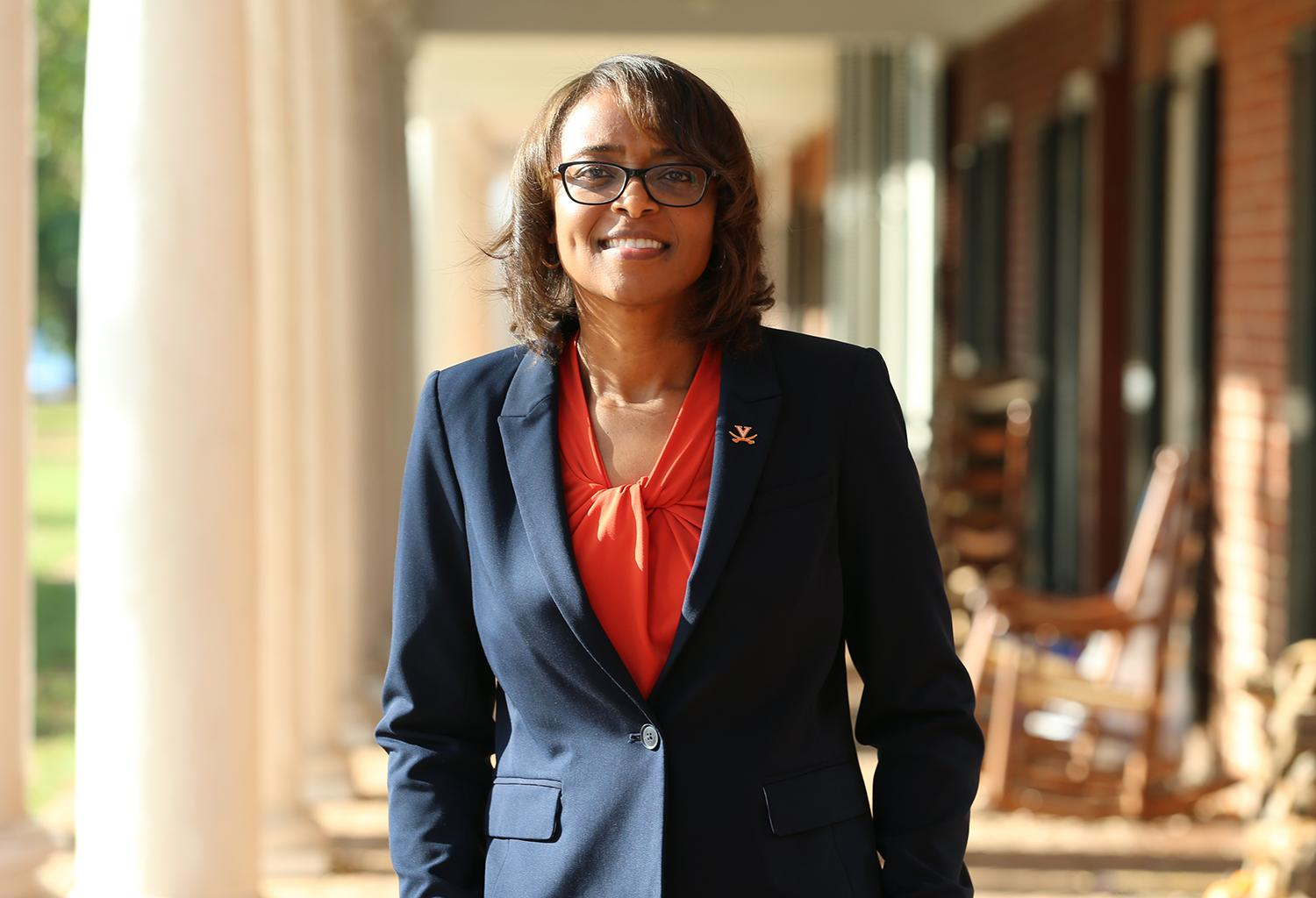 Carla Williams joins the University of Virginia as director of athletics after a distinguished career at the University of Georgia. (Photo by Matt Riley, UVA Athletics)