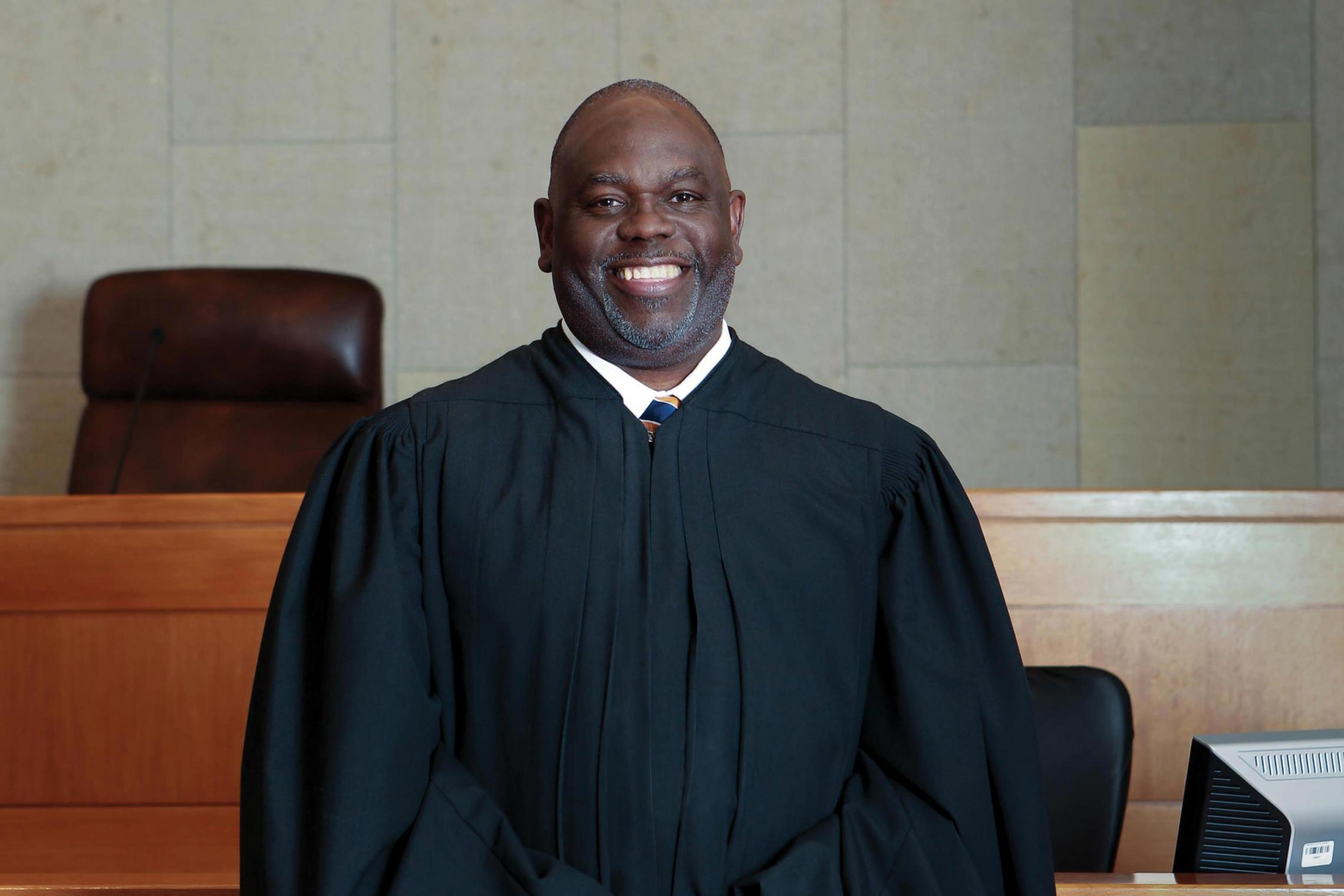 U.S. Judge Carlton W. Reeves, who graduated from the UVA School of Law in 1989, has served for almost a decade on the U.S. District Court for the Southern District of Mississippi. (Photo by Christina Cannon)