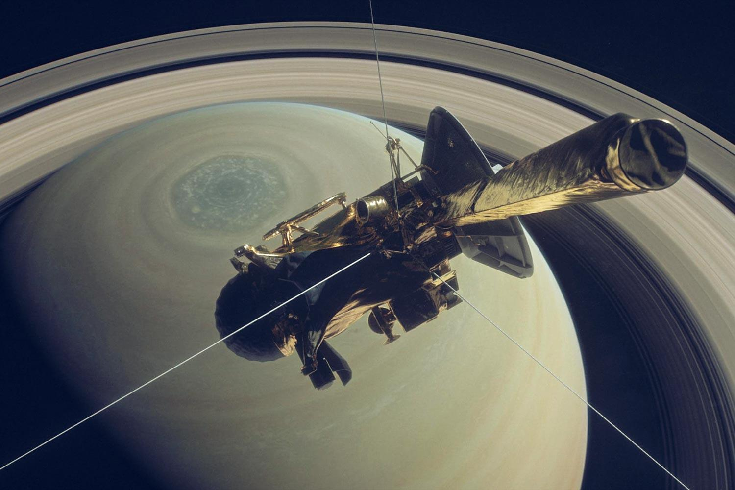 The Saturn system has been Cassini's home for 13 years, but that journey is just hours from ending.