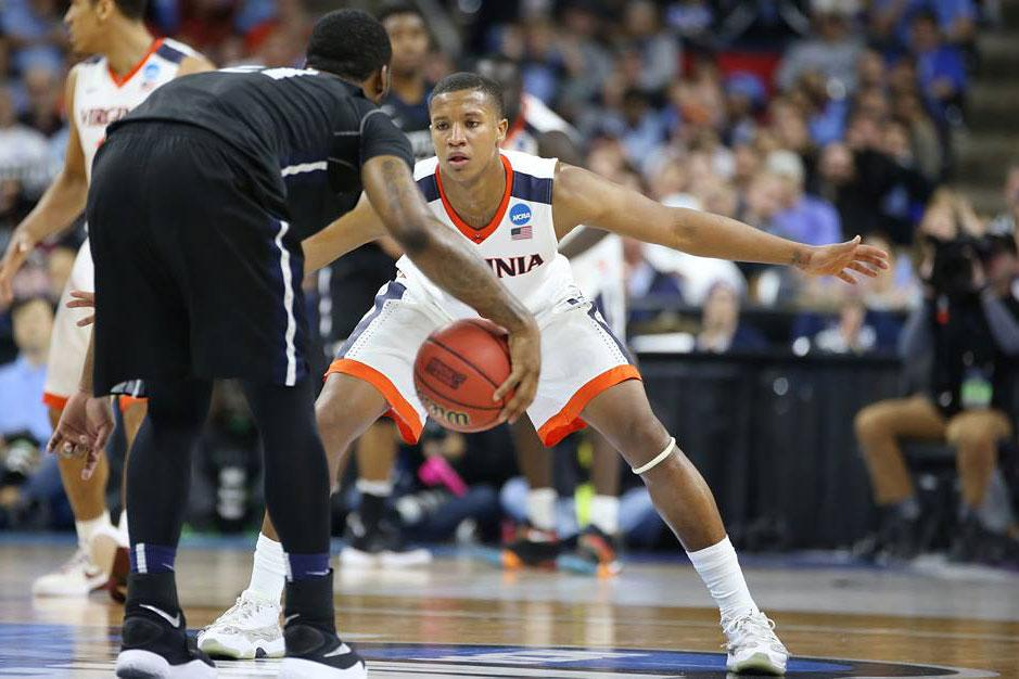 Devon Hall and his UVA teammates will face one of their most difficult assignments of the season Friday: slowing down an Iowa State team averaging more than 82 points per game.