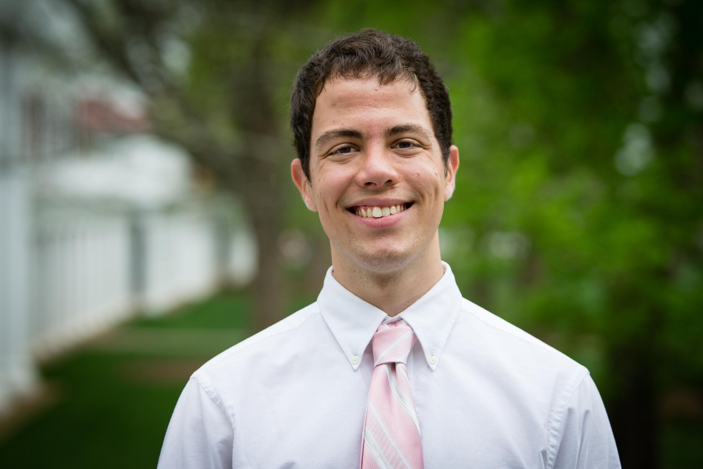 Charlie Tyson graduated from UVA in 2014 with a B.A. in political and social thought, with highest distinction, and in English. He is currently working toward his second master's degree at the University of Oxford.