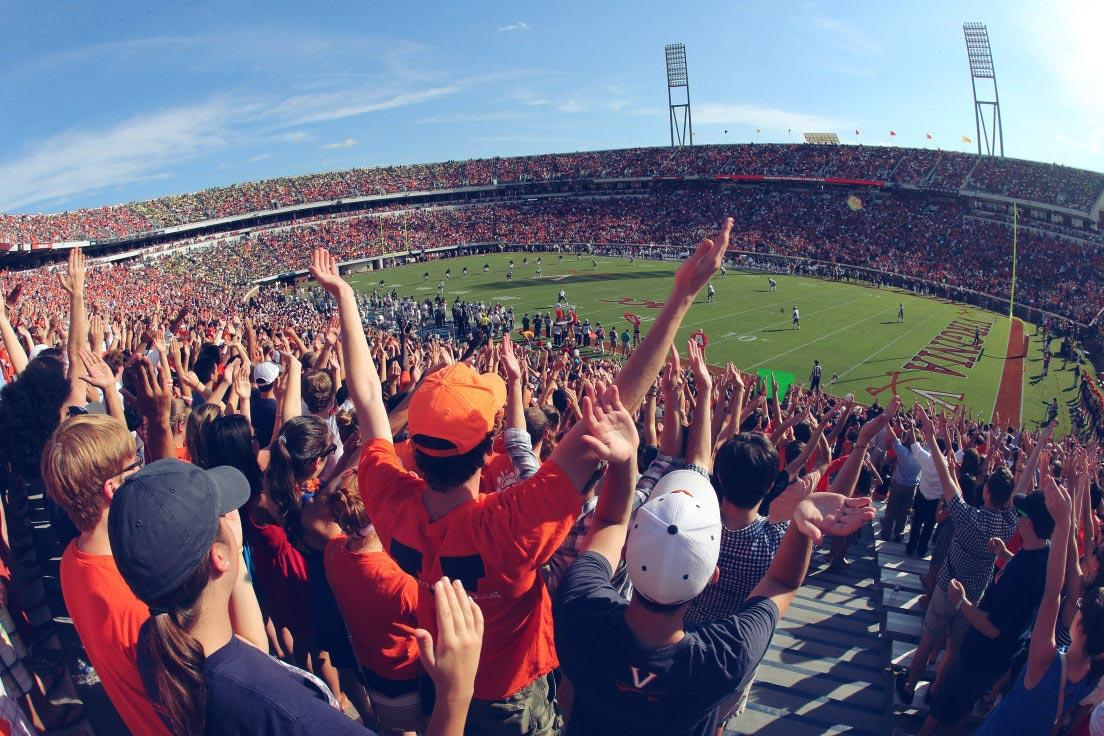 UVA Sets New Scott Stadium, John Paul Jones Arena Bag Policy and Entry Procedures