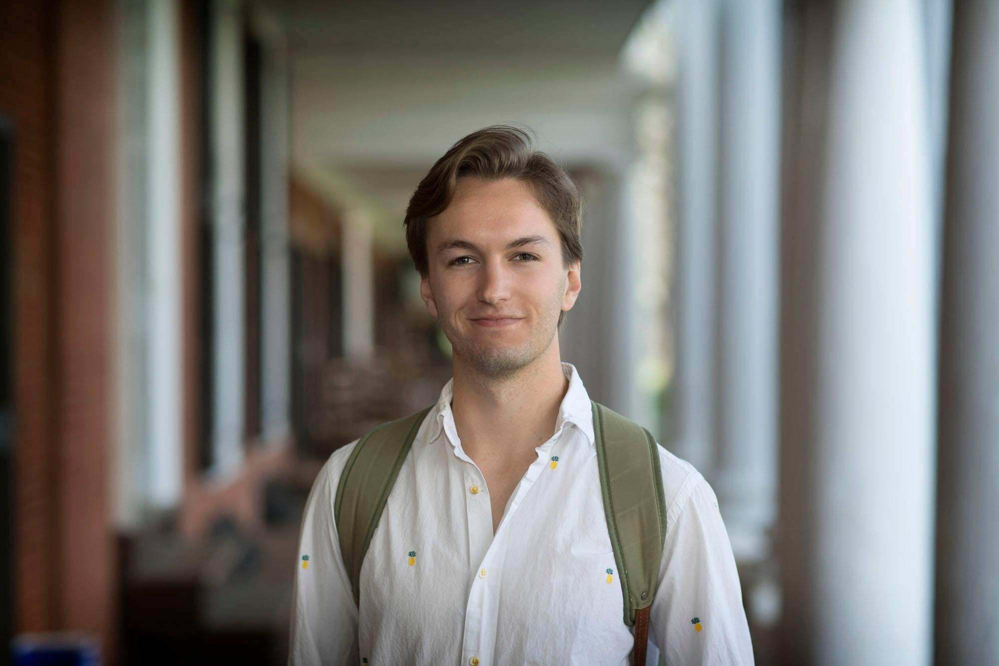 Fourth-year economics major Clement Bohr will pursue his Ph.D. at Northwestern University after graduation in May.