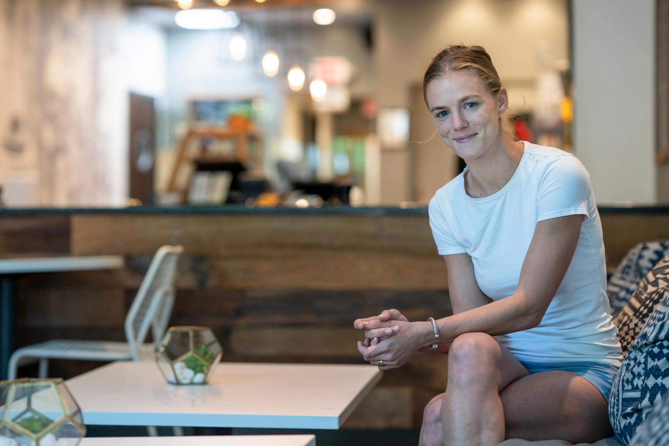Julie Nolet, a 2017 graduate of the University, created Corner Juice in collaboration with her business partners Joseph Linzon and Kevin McConnell.