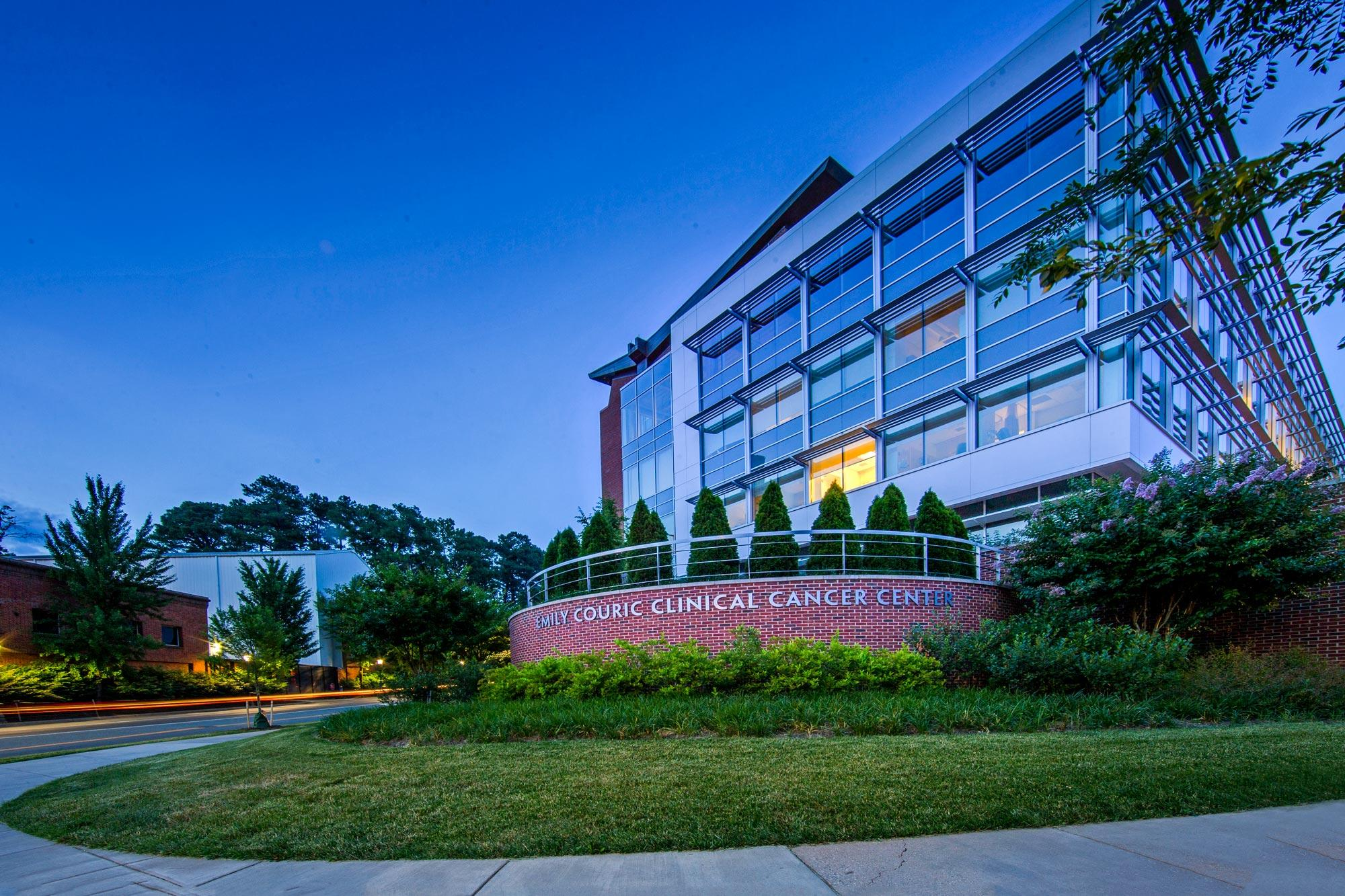 UVA's Cancer Center, one of 71 NCI-designated centers nationwide, serves approximately 4 million people in Virginia and West Virginia.
