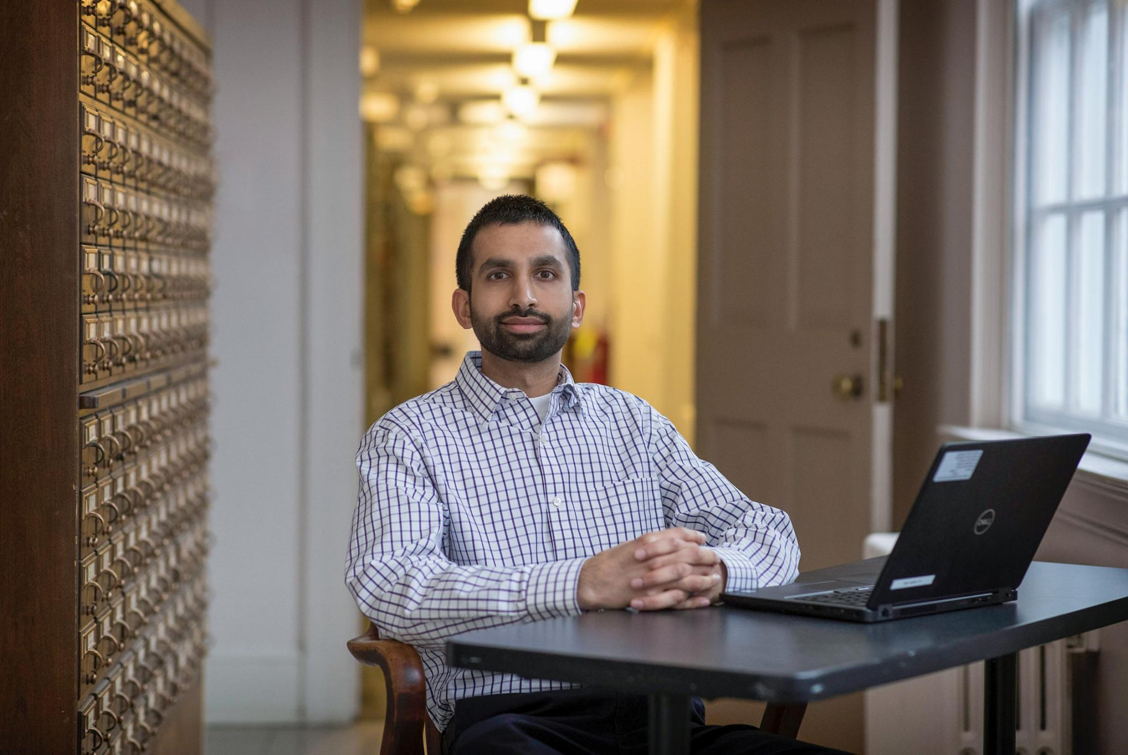 Librarian Dave Ghamandi was drawn to open-access publishing to make new scholarship available online to anyone for free.