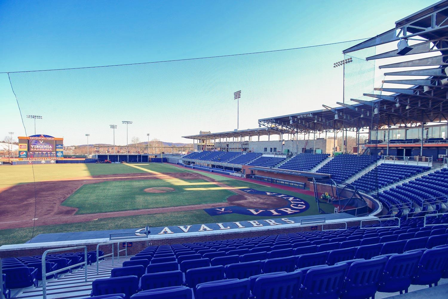 Fans at the Cavaliers' Feb. 20 home opener will see a transformed stadium – particularly in areas along the right-field line.