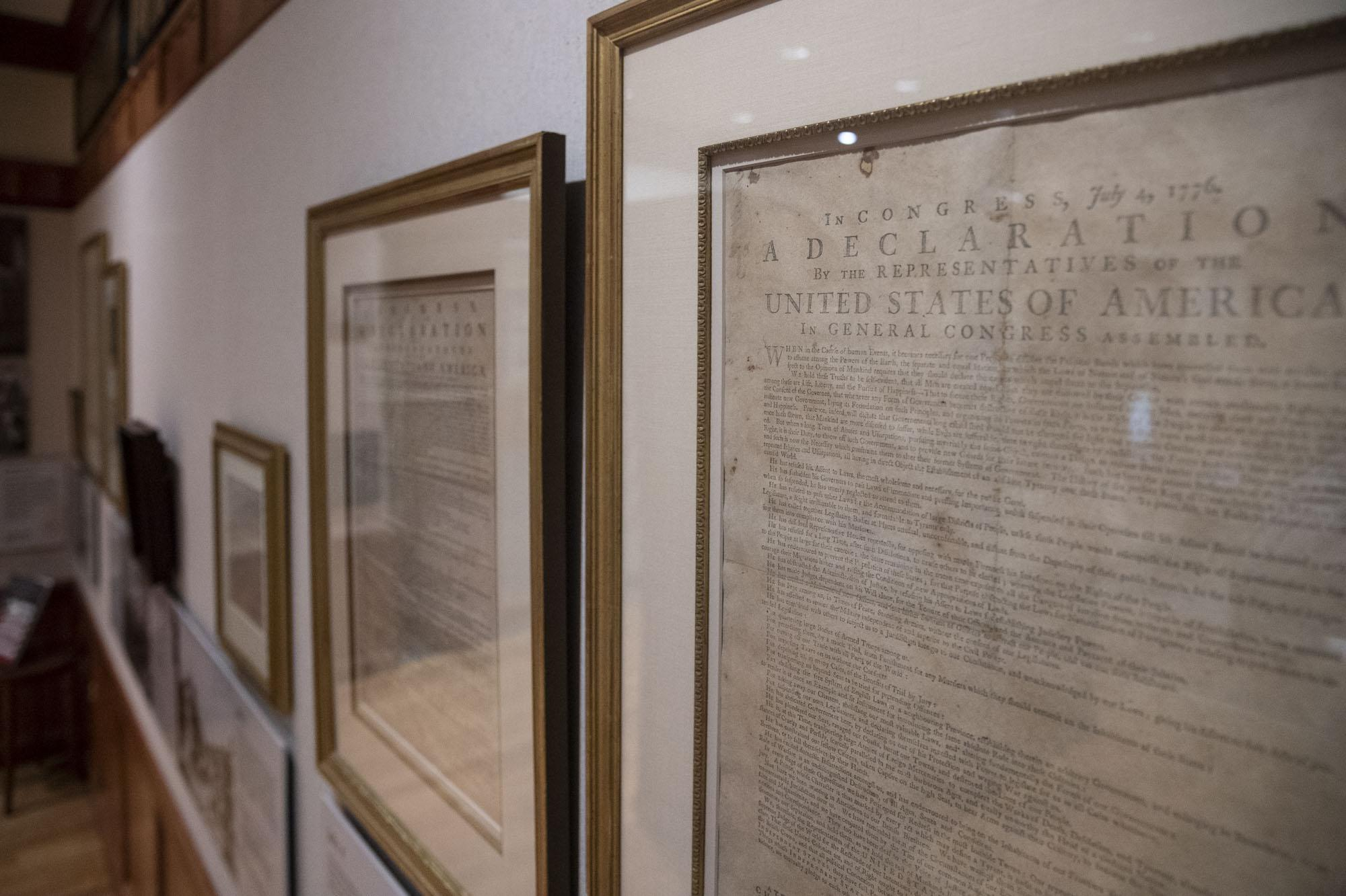 How Early Printings of the Declaration of Independence Wound Up At