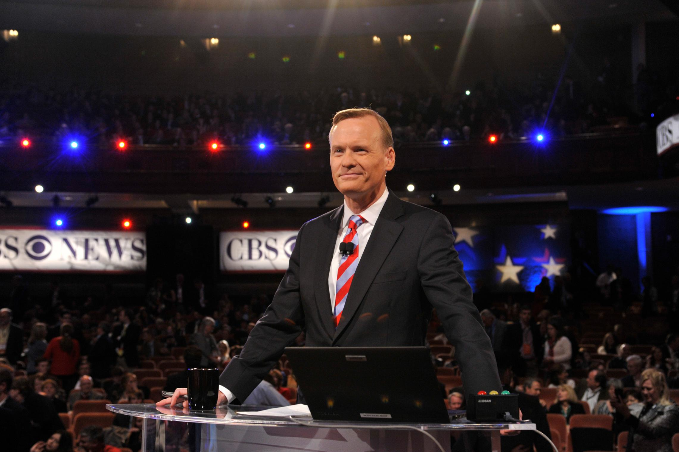 "Dickerson, then the CBS News political director and ""Face the Nation"" anchor, moderated the CBS News Republican Presidential Debate in February 2016."