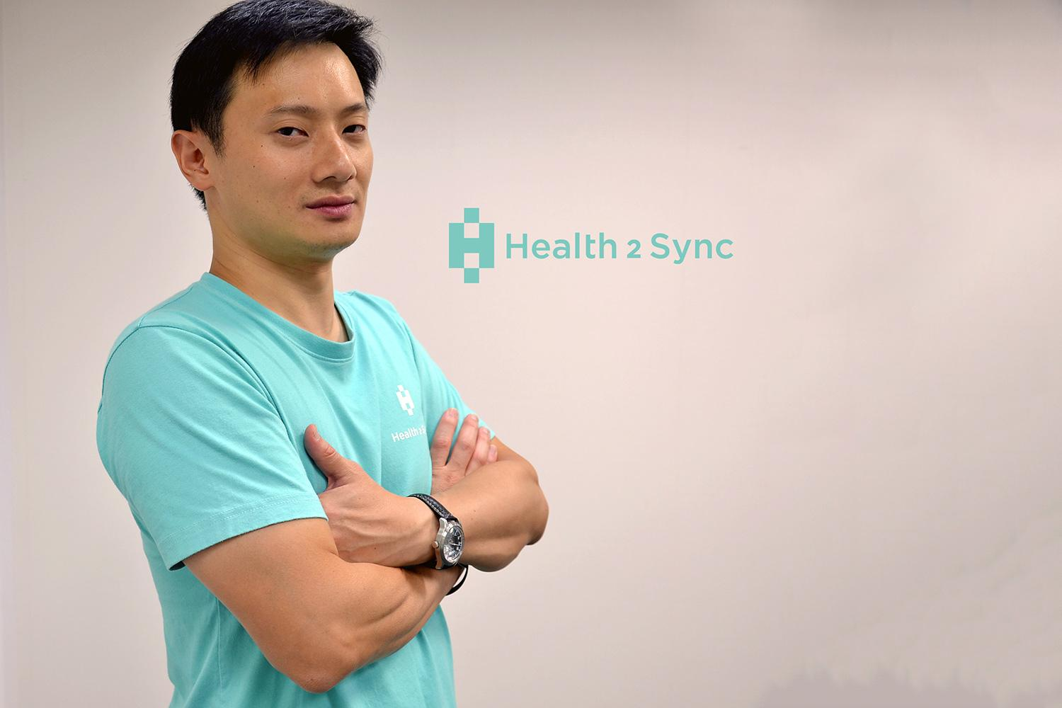 UVA alumnus Ed Deng launched Health2Sync to bring significant digital upgrades to the day-to-day management of diabetes, one of the most prevalent chronic diseases in the world. (Contributed photo)