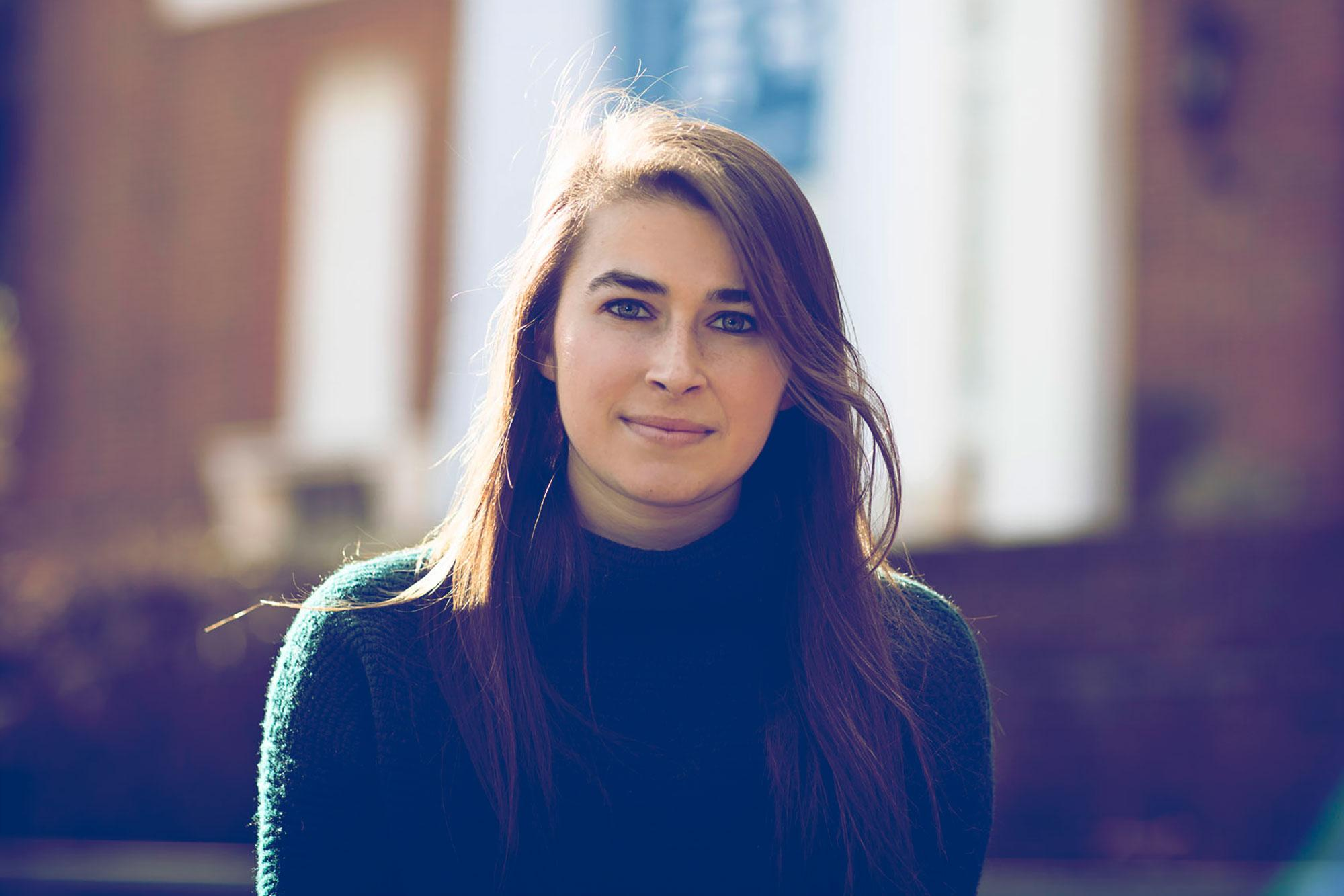 Emily Cox is UVA's first participant in the Mica and Ahmet Ertegun Graduate Scholarship Programme in the Humanities.