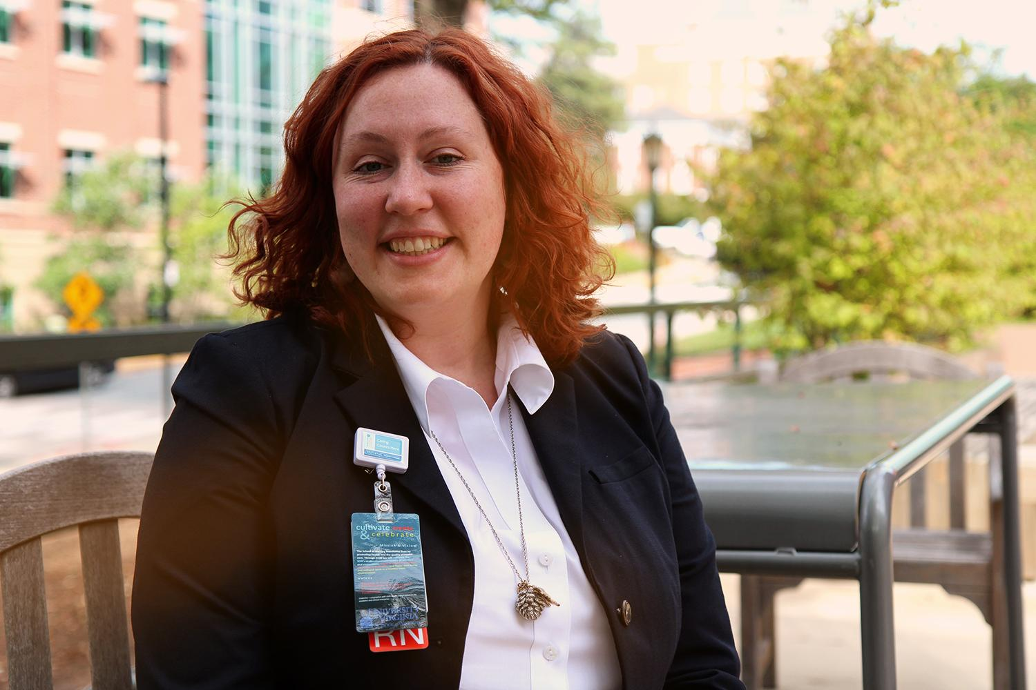 UVA nursing professor Emma Mitchell is researching whether at-home testing can determine a woman's risk for cervical cancer.