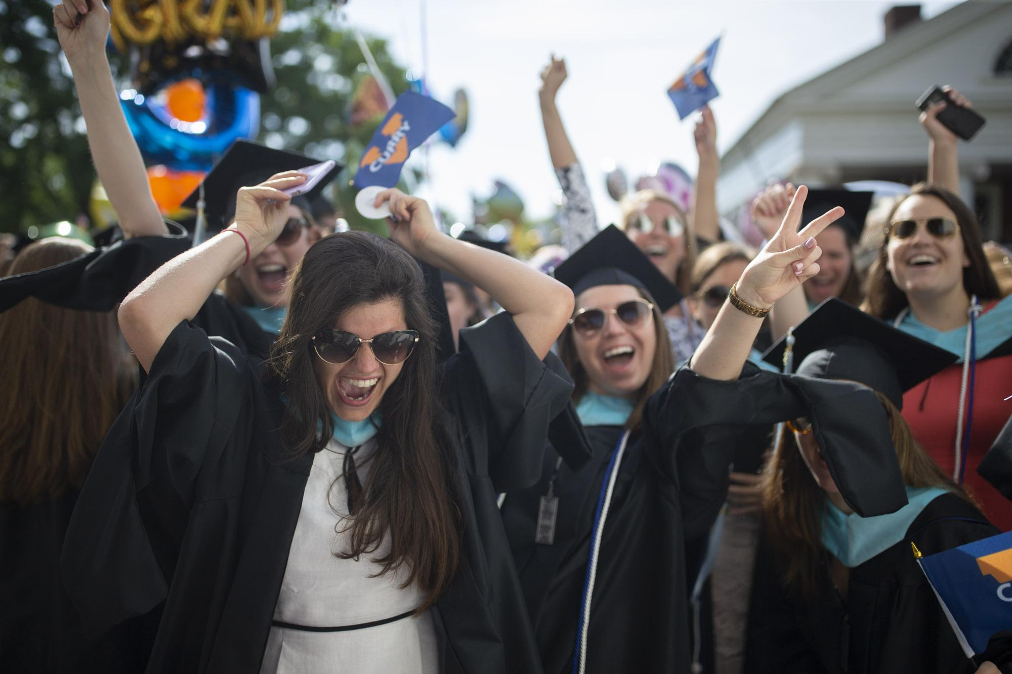 Graduates from 10 University of Virginia schools and the Data Science Institute celebrated Sunday in the second of two Final Exercises ceremonies. (Photos by Sanjay Suchak, Dan Addison and Ézé Amos)
