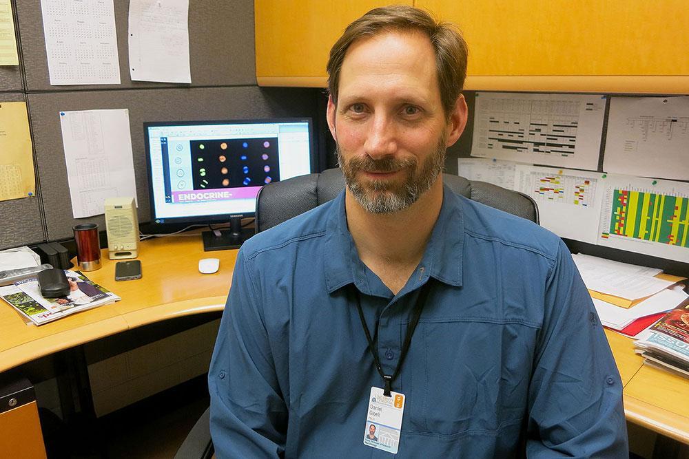UVA researcher Dan Gioeli said the discovery could lead to more effective treatments for prostate cancer.