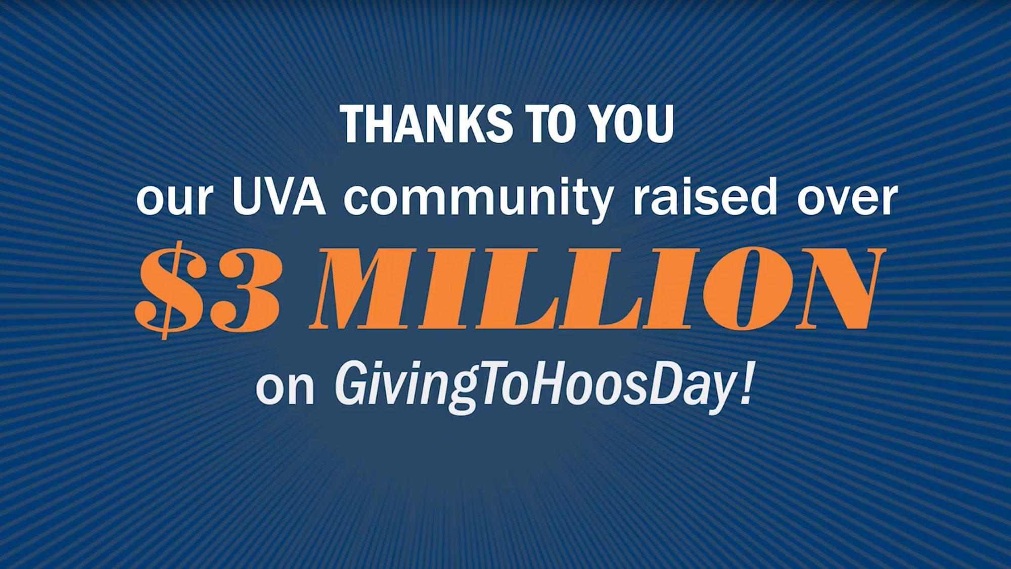 'GivingToHoosDay' Raised $3 Million in 24 Hours