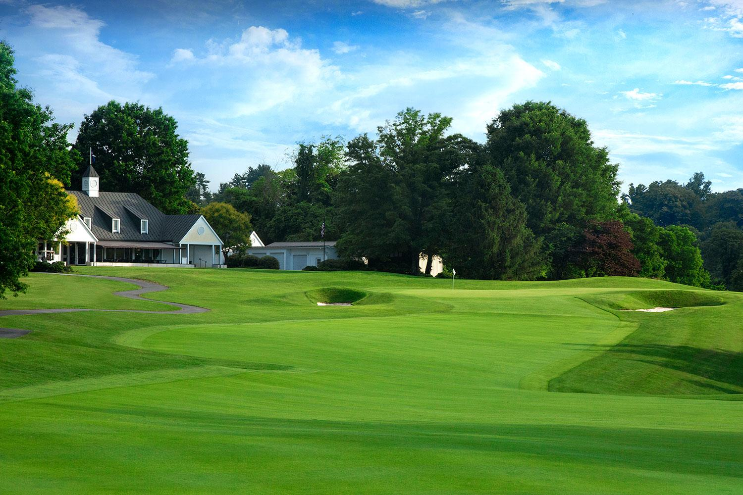 Though highly rated, the Birdwood Golf Course is among the shortest in the ACC. The redesign will make it more attractive for hosting collegiate competition.
