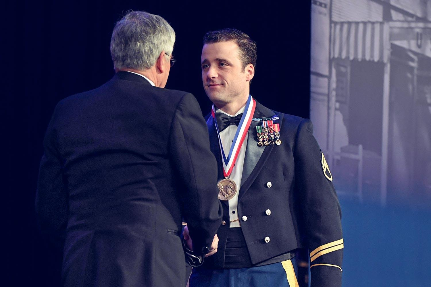 Michael Sargent Left Darden to Redeploy in Afghanistan, and Returned a Hero