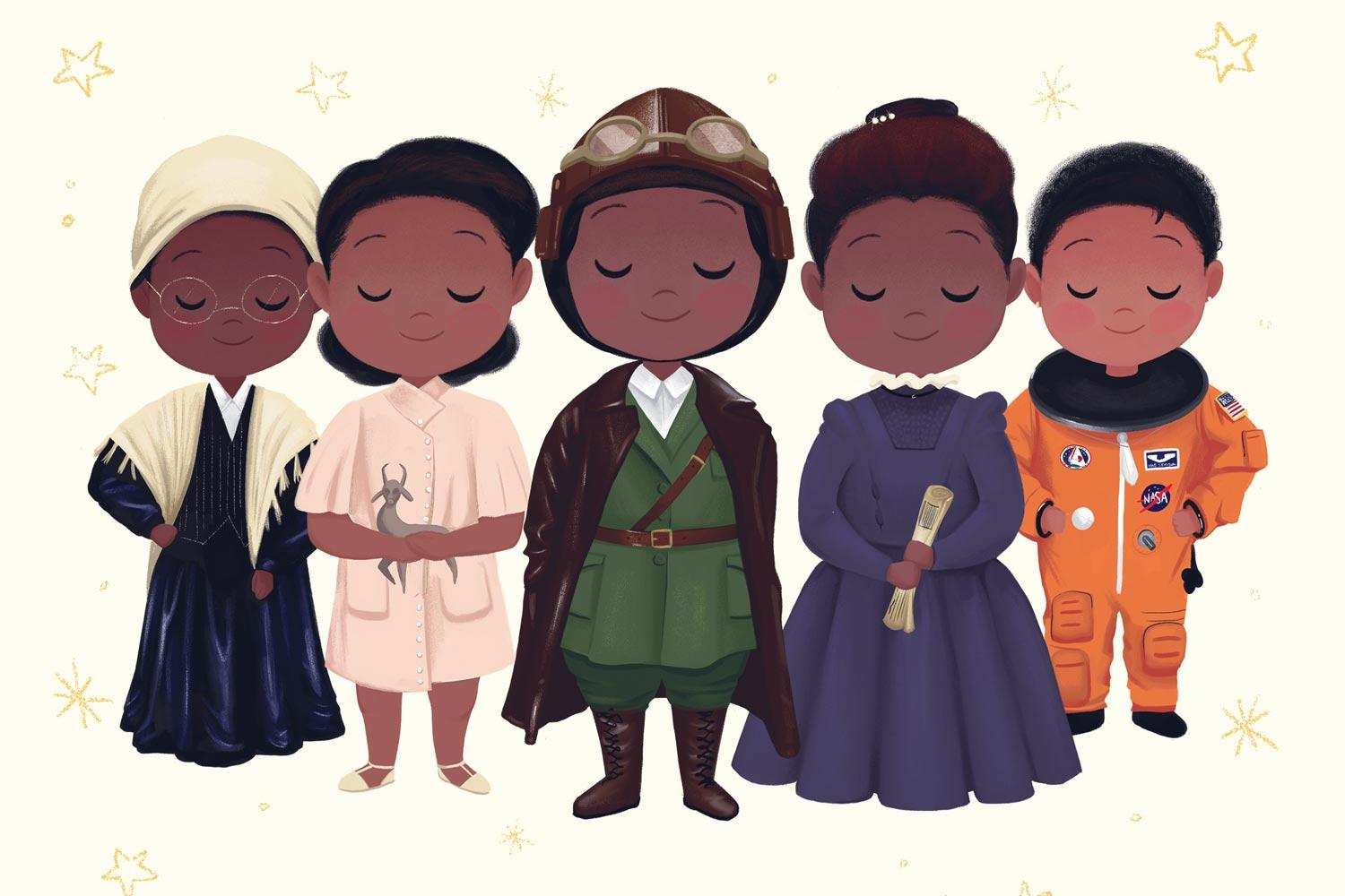 """Vashti Harrison said she wanted her observance of Black History Month to be """"a celebration of the contribution black women have made to American history as a whole."""""""