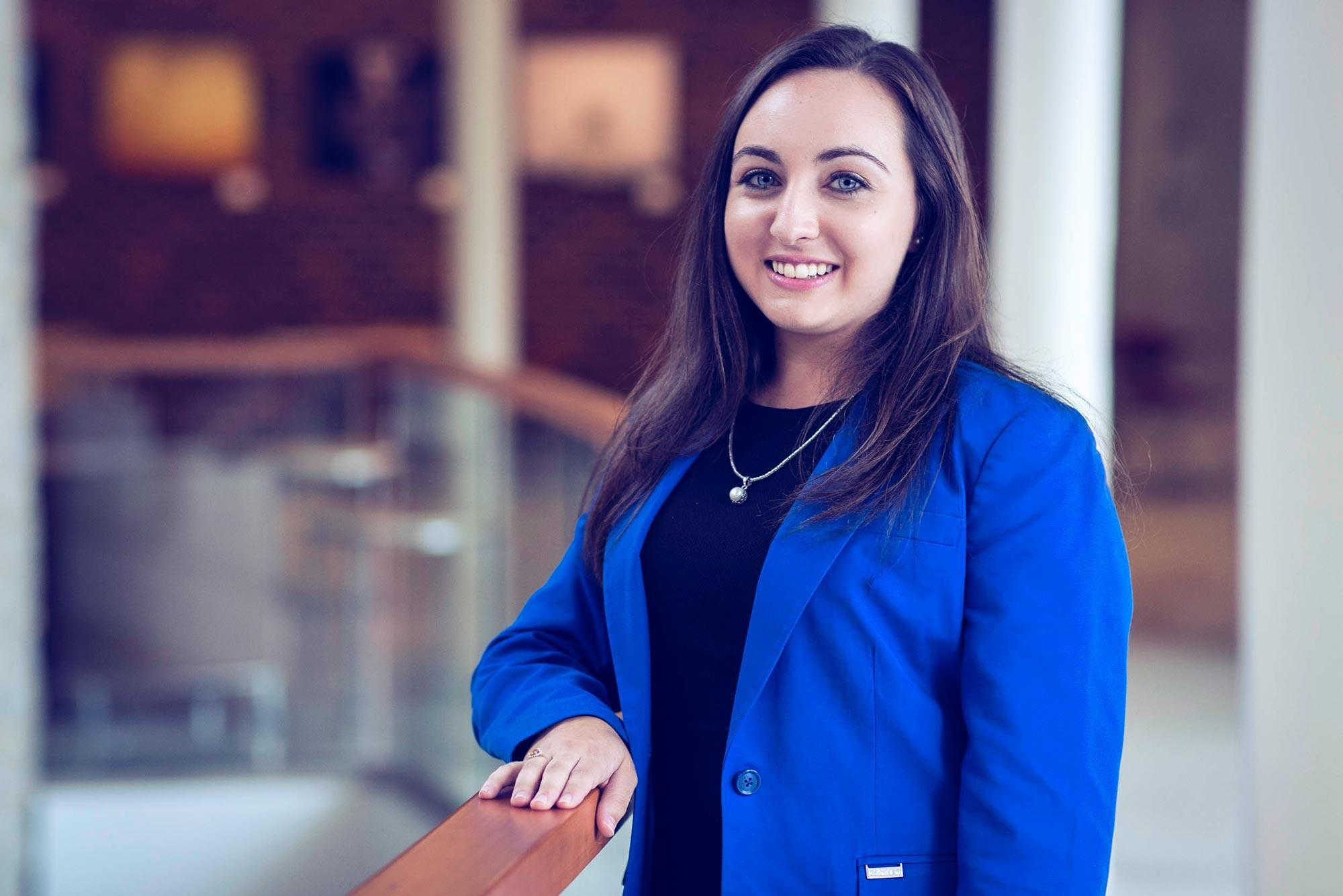 2013 UVA alumna Holly Rasheed, now 24, was Virginia's youngest lawyer when she became an assistant commonwealth's attorney in Augusta County.