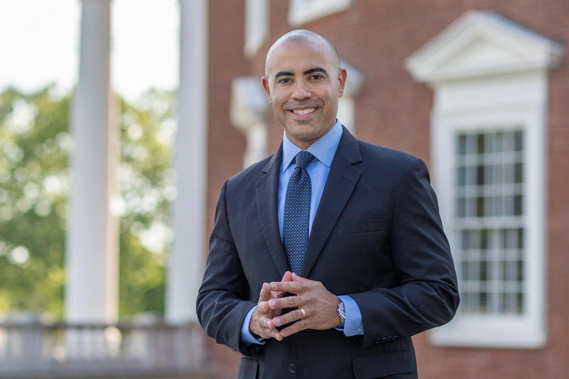 Dean Ian Solomon of the Frank Batten School of Leadership and Public Policy sees the school's mission as improving lives through enlightened leadership and effective public policy.