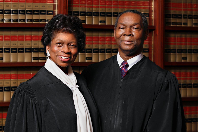 Portrait of Raymond and Gwendolyn Jackson