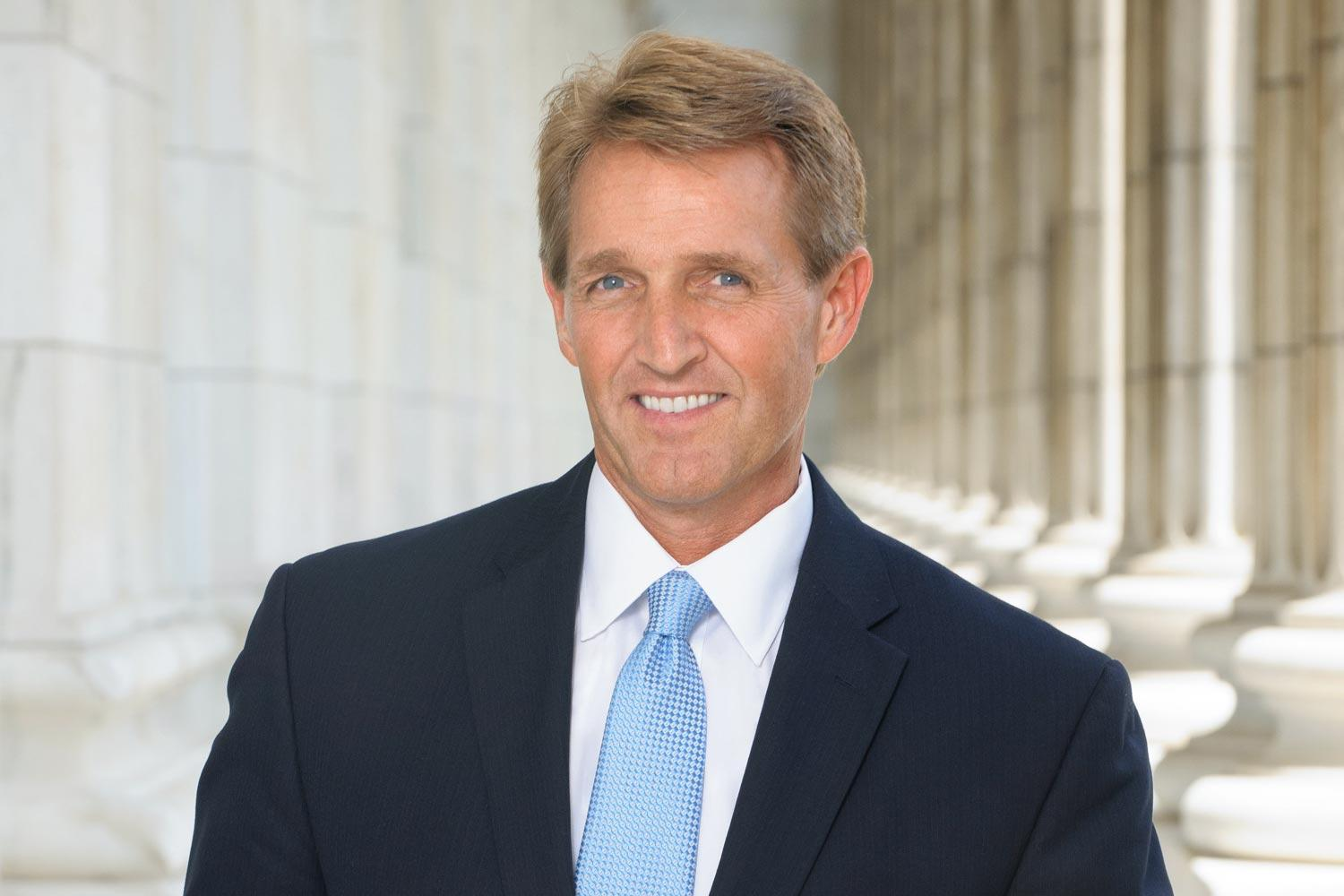 Former U.S. Sen. Jeff Flake will give a lecture in the Rotunda Friday night.
