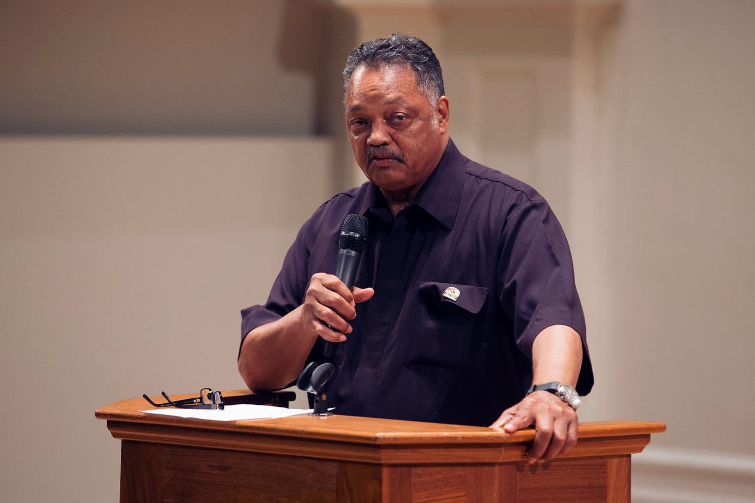 Rev. Jesse Jackson is one of America's foremost leaders in civil rights, religion and politics. He was a candidate for the Democratic nomination for president in the 1984 and 1988 elections.