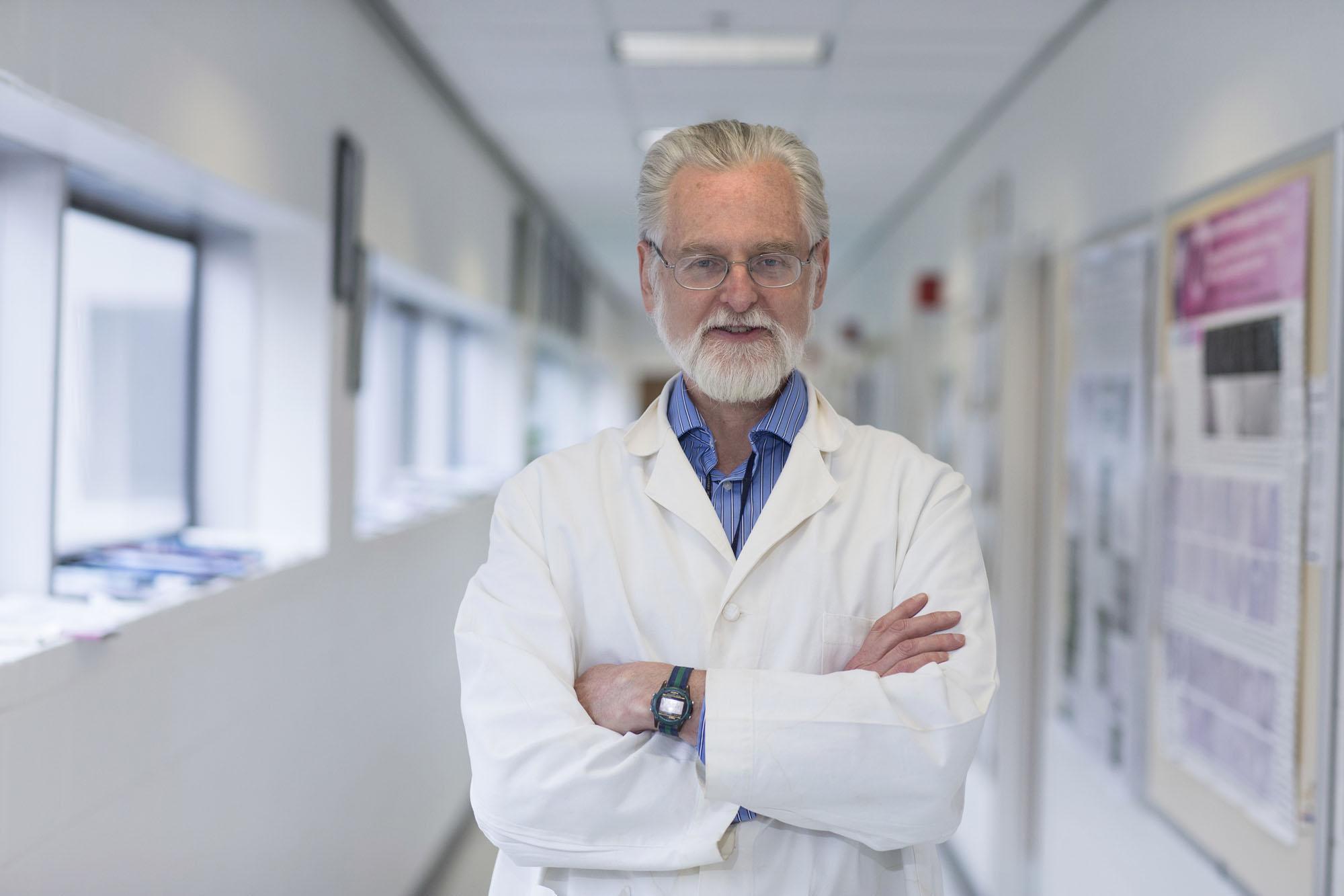 Cell biologist John Herr