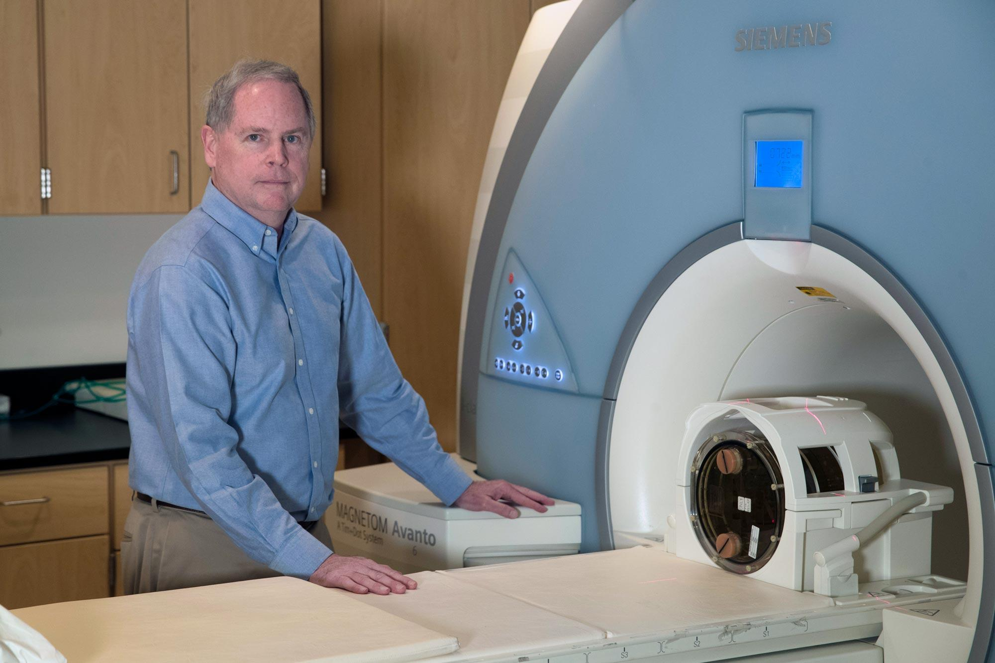 Biomedical engineer John Mugler, who pioneered new technologies that improved MRI imaging, has been named to the National Academy of Inventors.