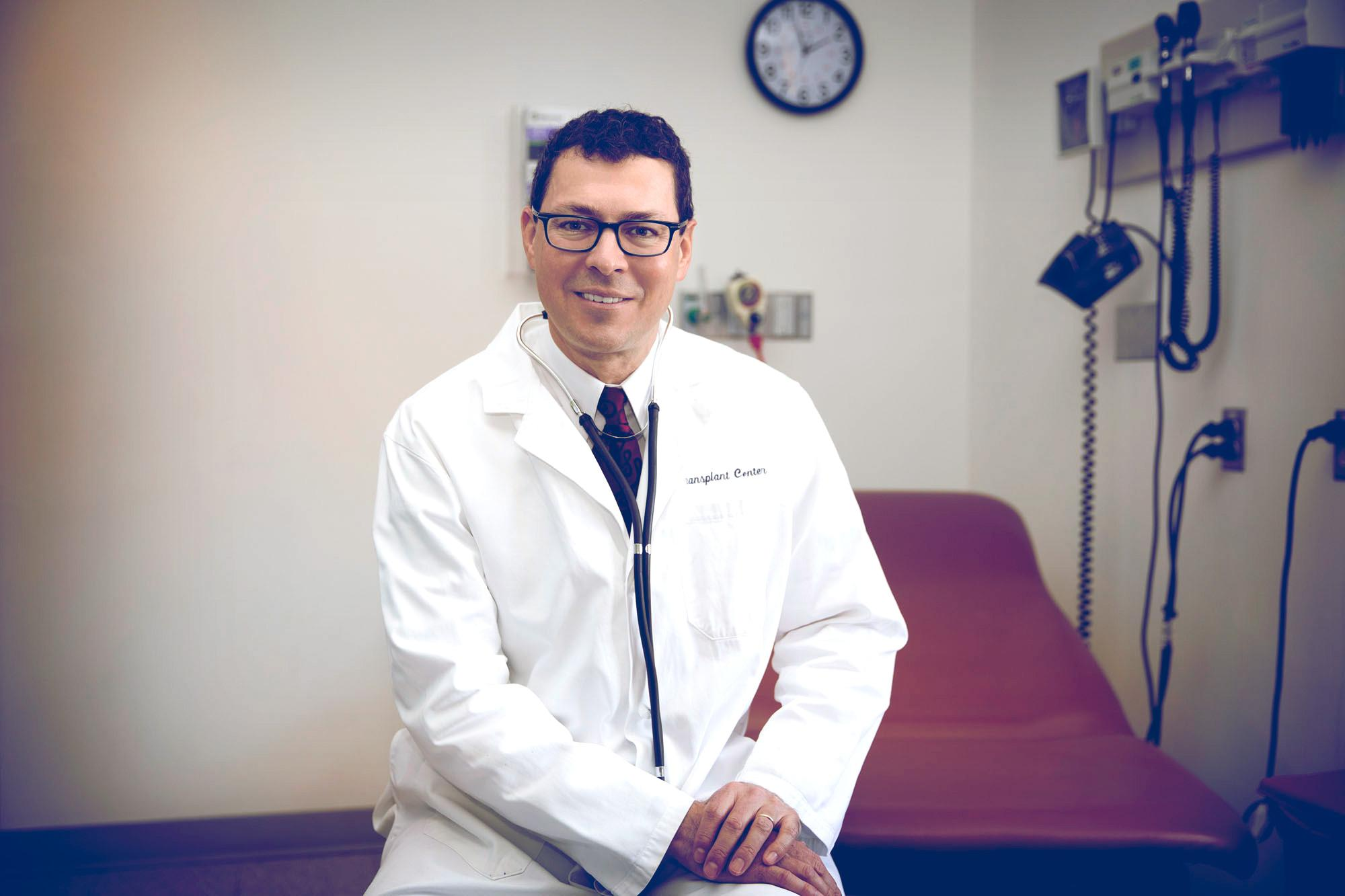 Dr. Jose Oberholzer is the incoming director of UVA's Charles O. Strickler Transplant Center.