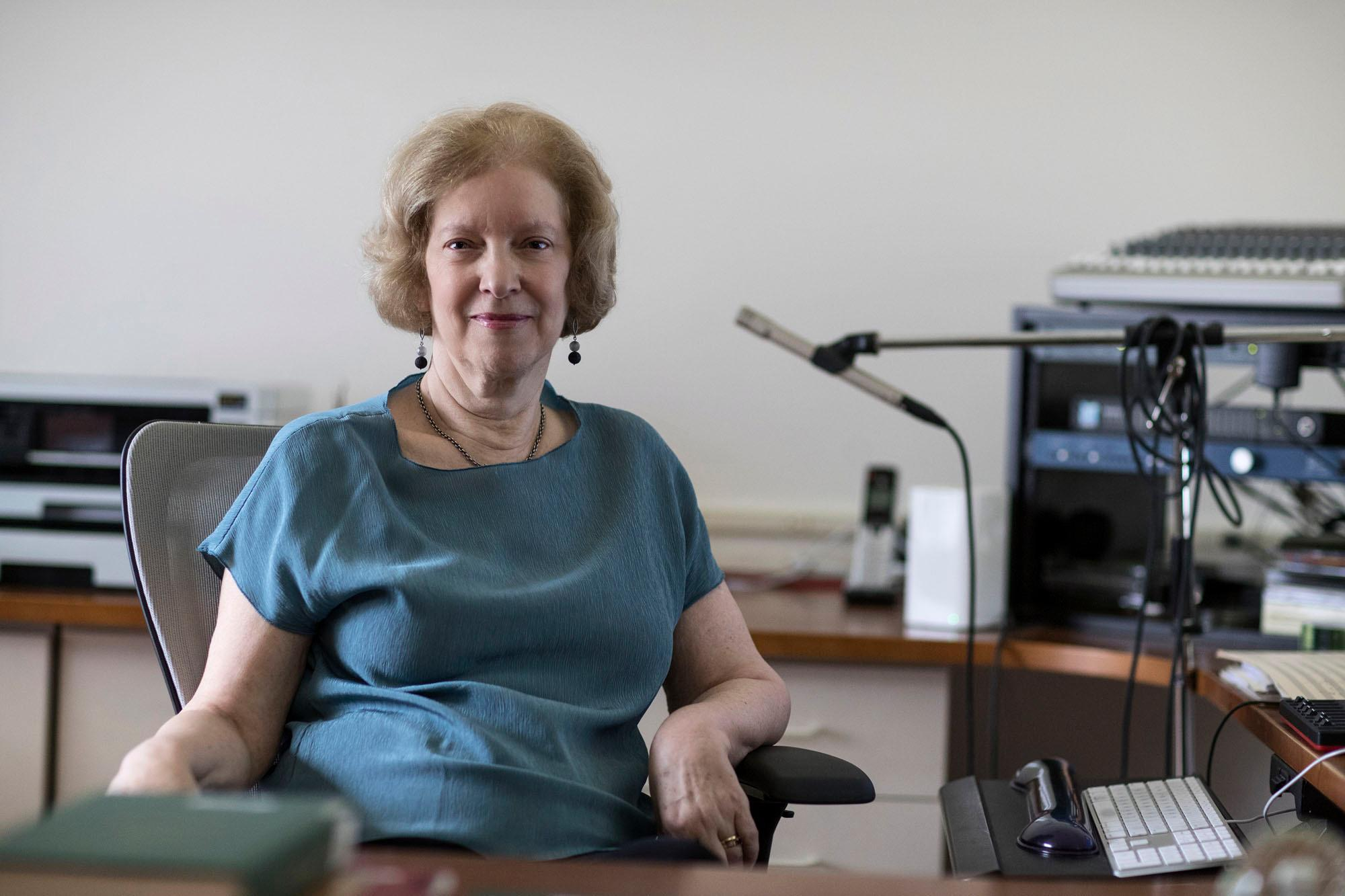 Judith Shatin founded the Virginia Center for Computer Music at UVA and developed UVA's Ph.D. program in Composition and Computer Technologies.