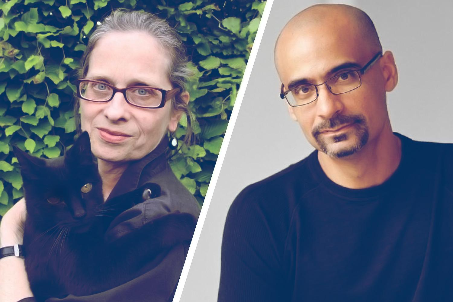 Lydia Davis, renowned writer and translator, and Junot Díaz, Pulitzer Prize-winning author
