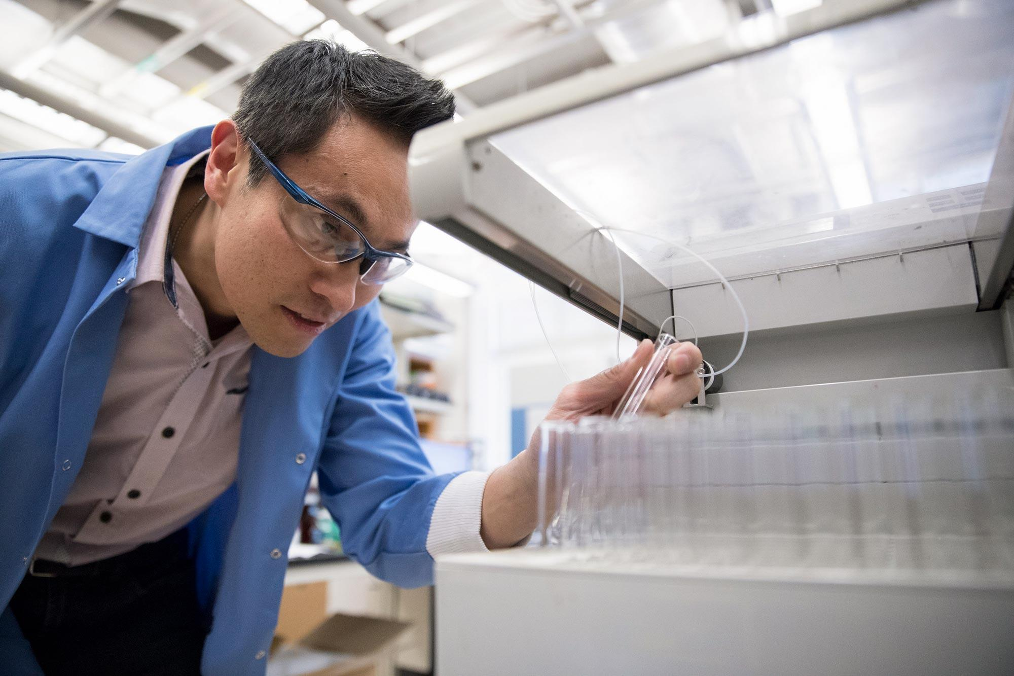 Ken Hsu is working to understand and control the body's inflammation response, with a focus on modifying immune cells to recognize and kill cancer.