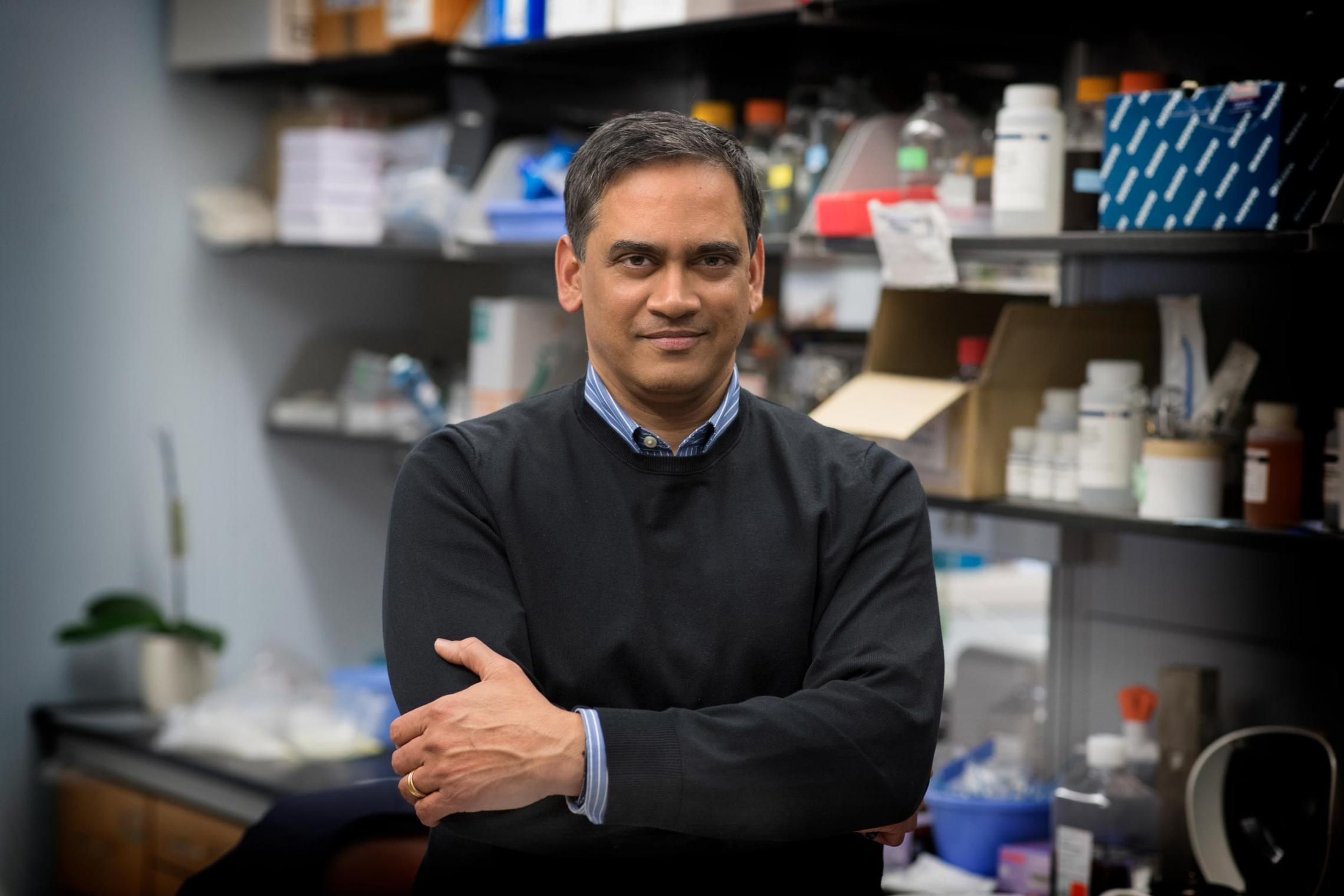 "Kodi Ravichandran said his lab came across the SLC genes ""kind of by accident,"" then probed deeper into their functions."