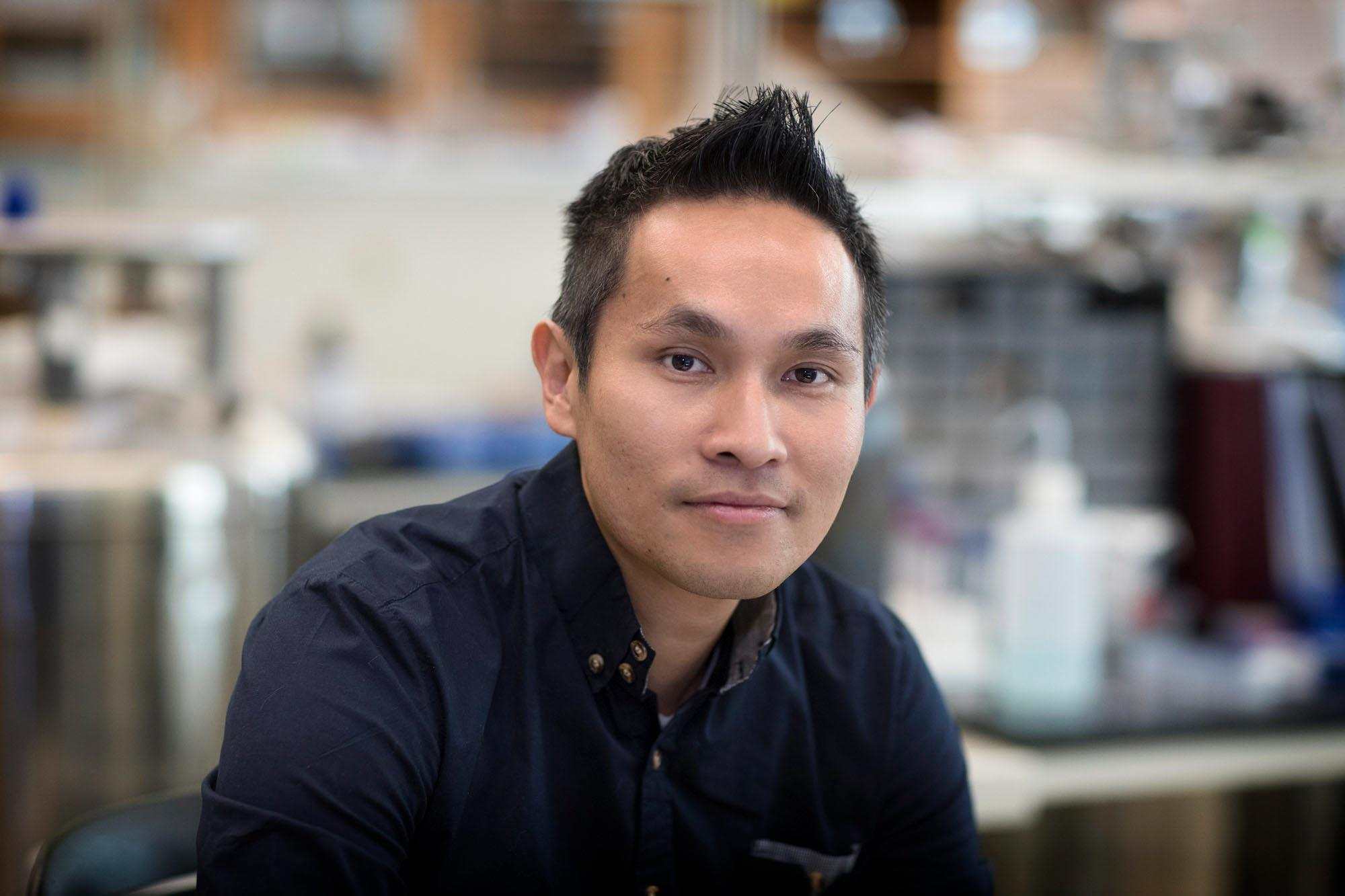 Researcher Ken Hsu focuses on using chemistry to modulate the immune system.