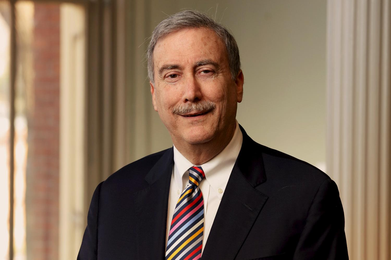 Renowned political analyst and politics professor Larry Sabato is the founding director of UVA's Center for Politics.