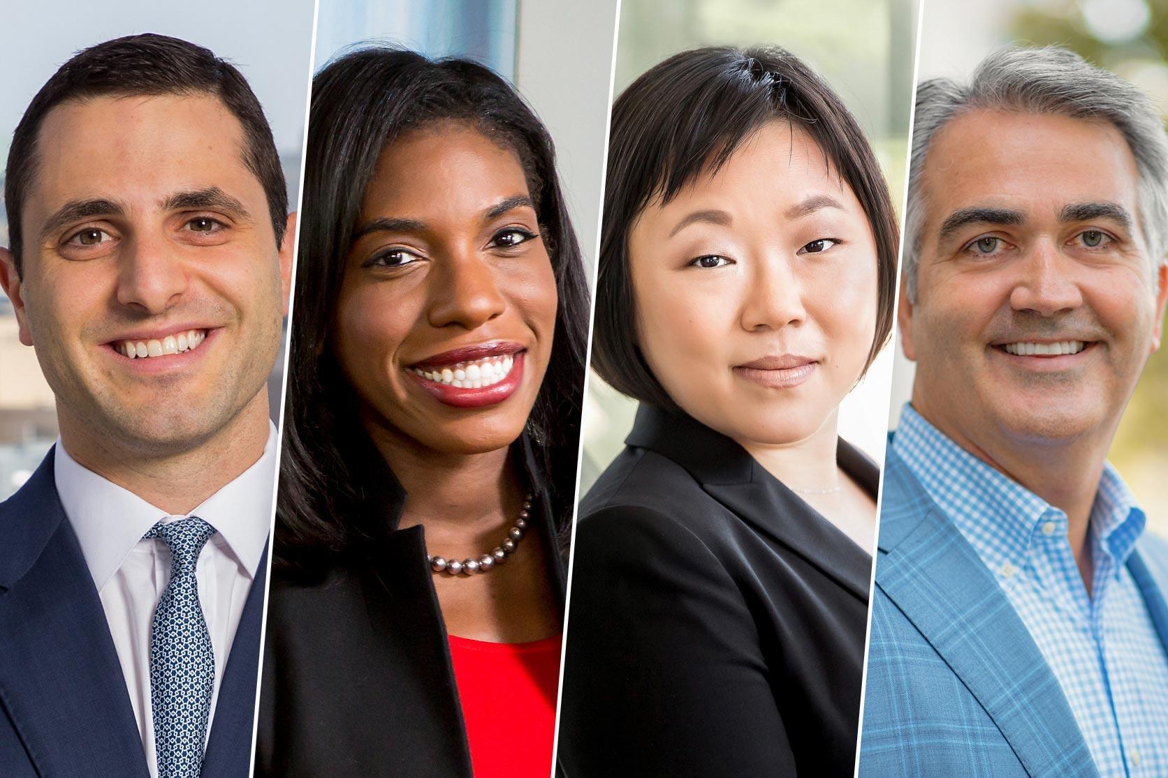 Jake Gutwillig (Class of 2013), Ashaki Noni Holmes-Kidd (Class of 2008), Tanya S. Wang (Class of 2003) and Douglas Eckert (Class of 1993) share their experiences since graduation.