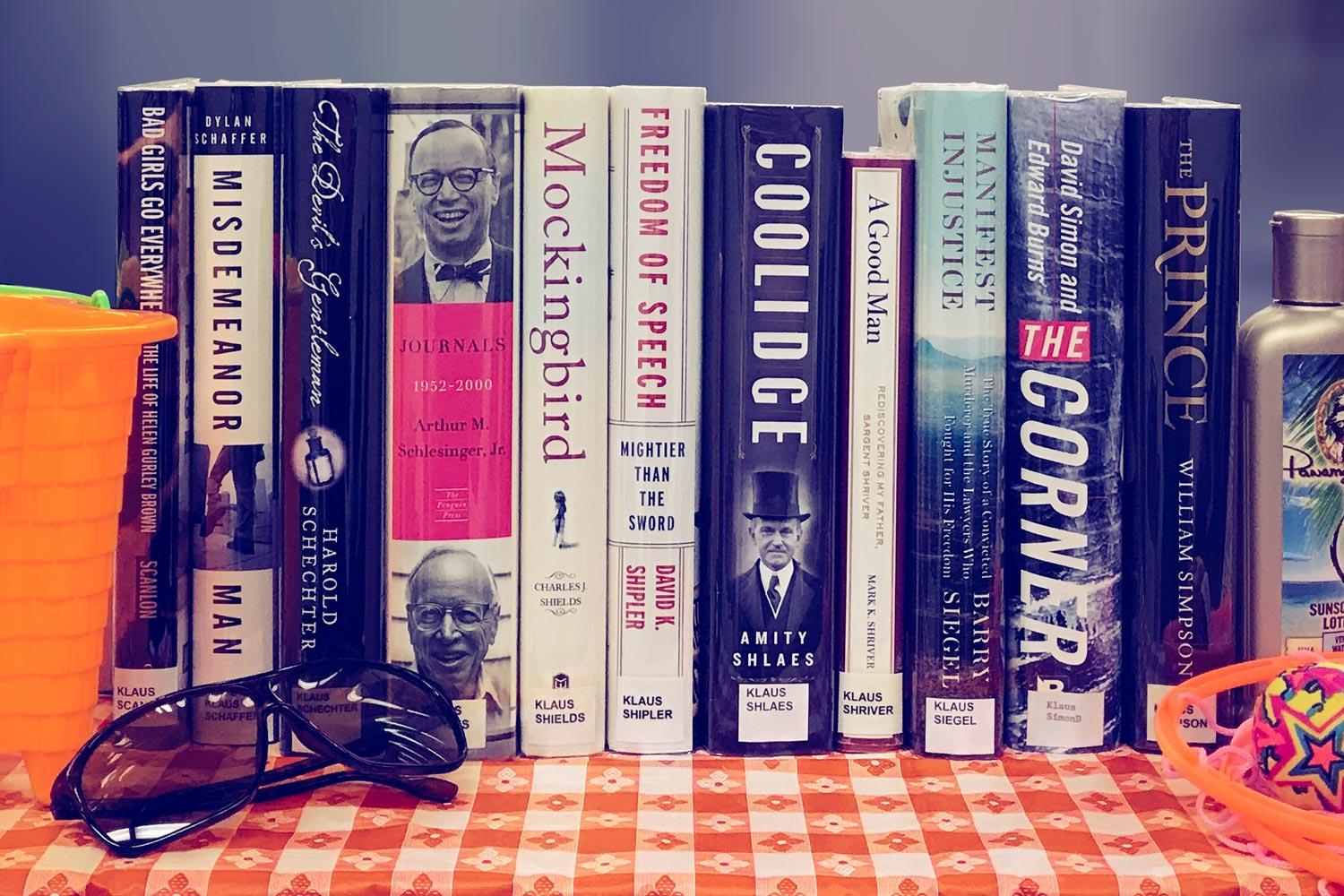UVA's Legal Experts Offer Their Picks for Summer Fiction Reading