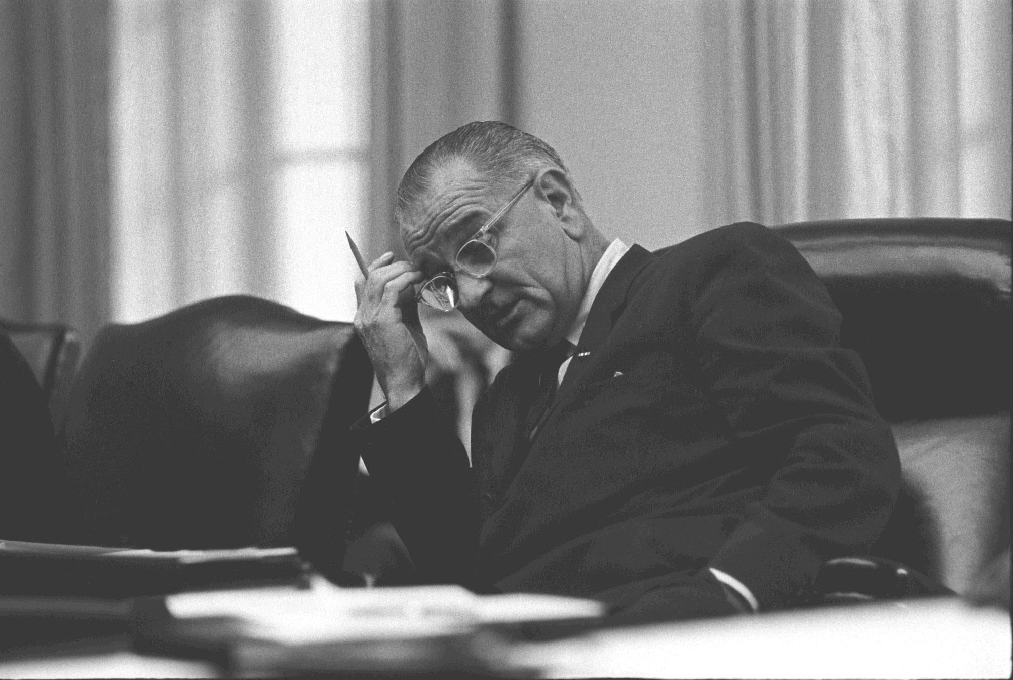 new miller center essays advise next president on national president lyndon b johnson famously said you ve got to give it