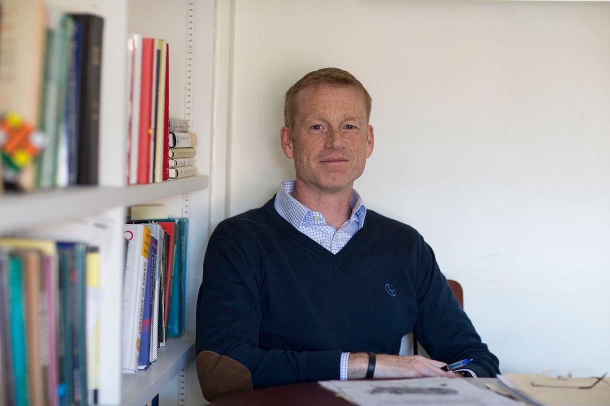 Associate economics professor Lee Coppock