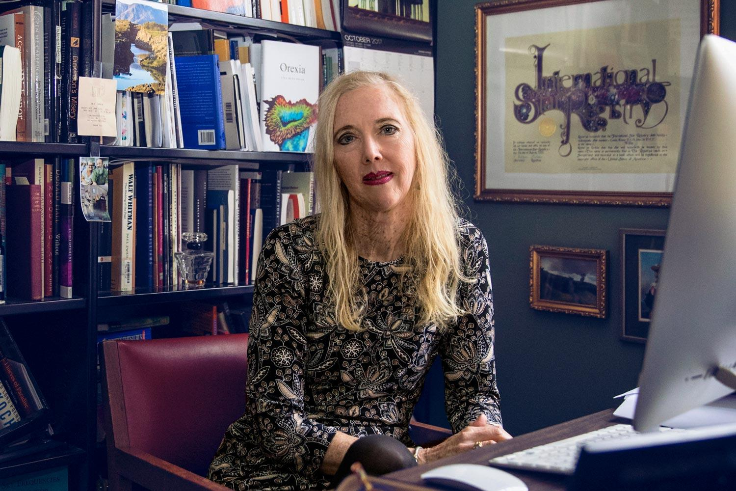 English professor Lisa Russ Spaar has published seven books of poetry and four anthologies of poems.
