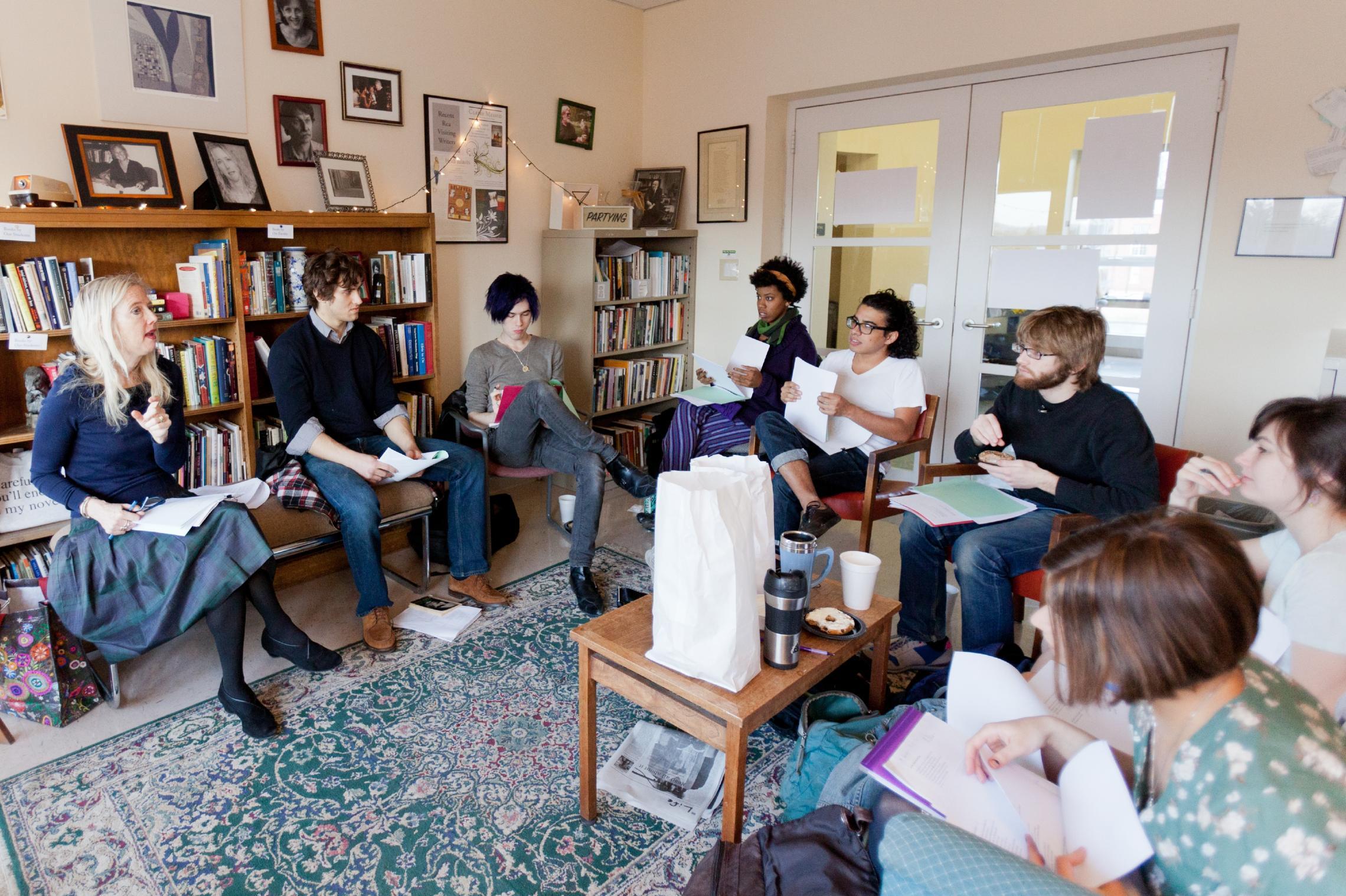 Lisa Russ Spaar poetry class